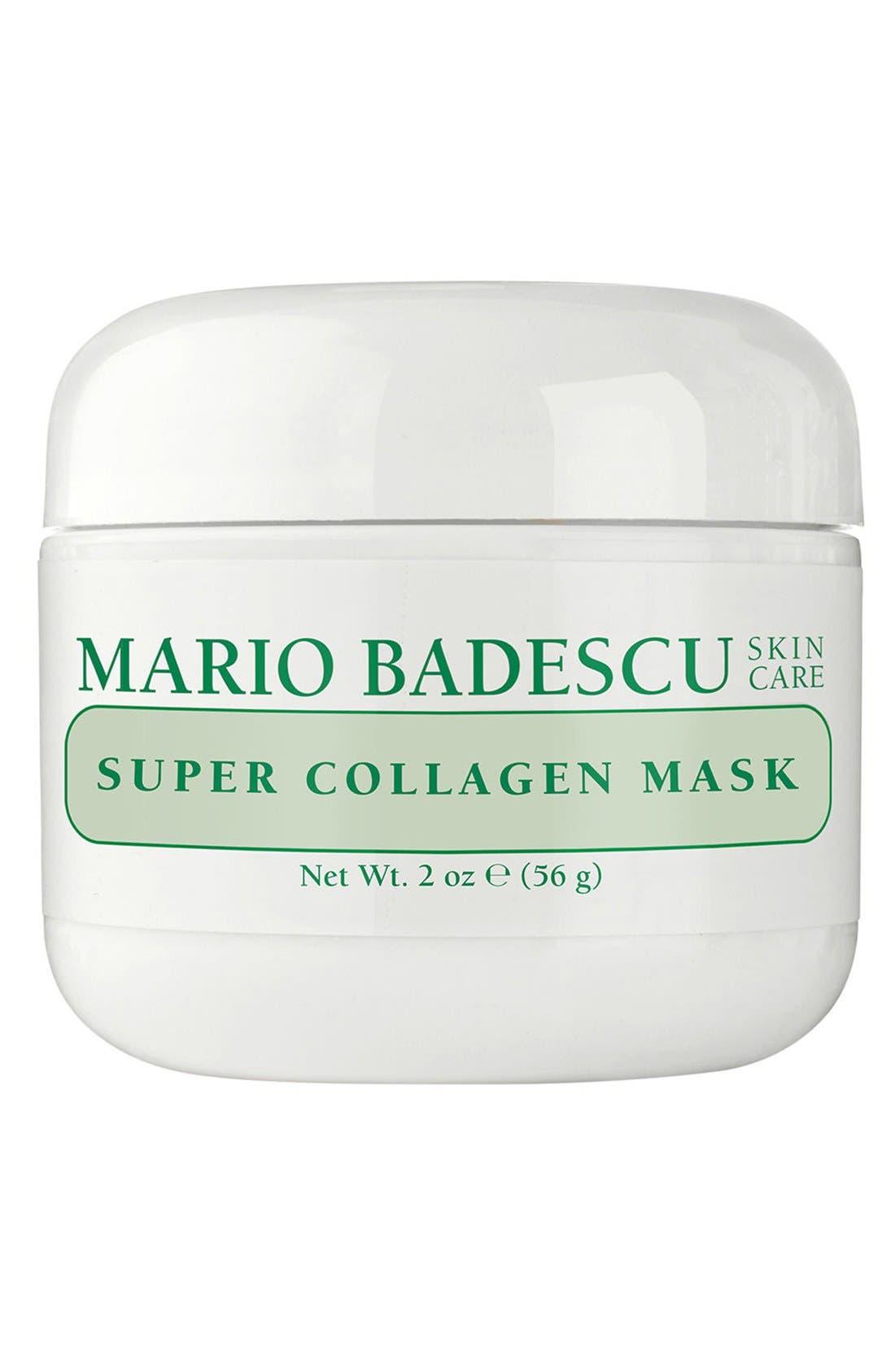 'Super Collagen' Mask, Main, color, NO COLOR