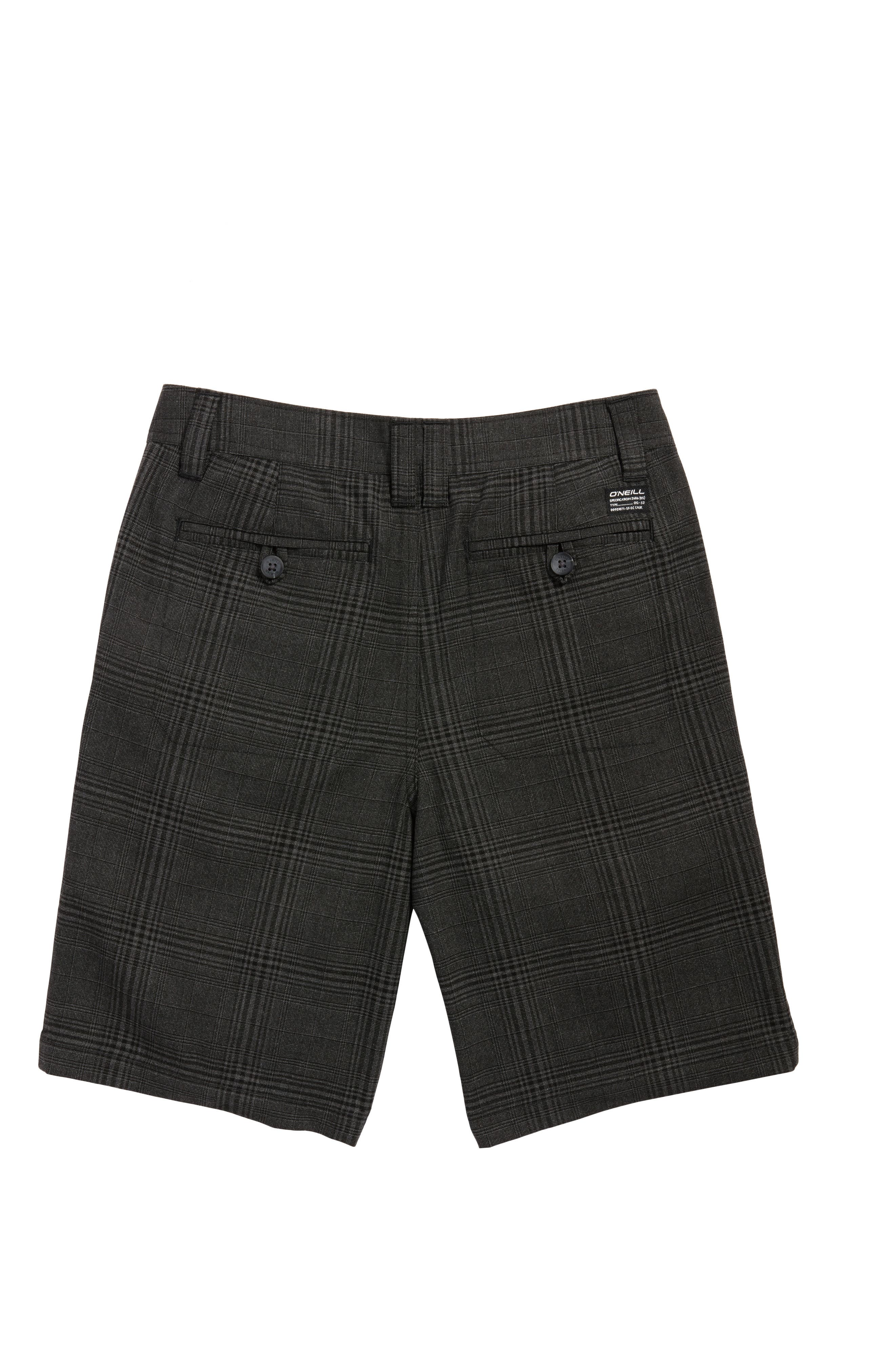 Bristol Plaid Shorts,                             Alternate thumbnail 4, color,                             001