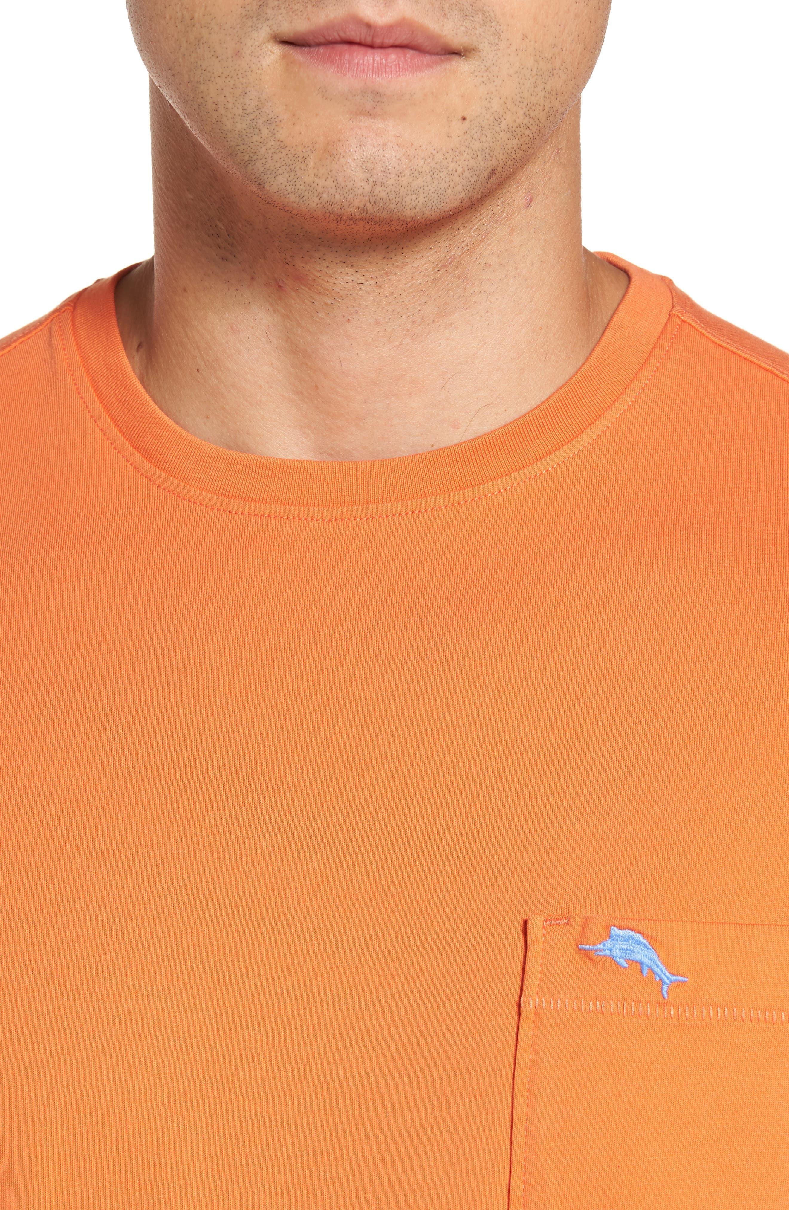 New Bali Sky Pima Cotton Pocket T-Shirt,                             Alternate thumbnail 103, color,
