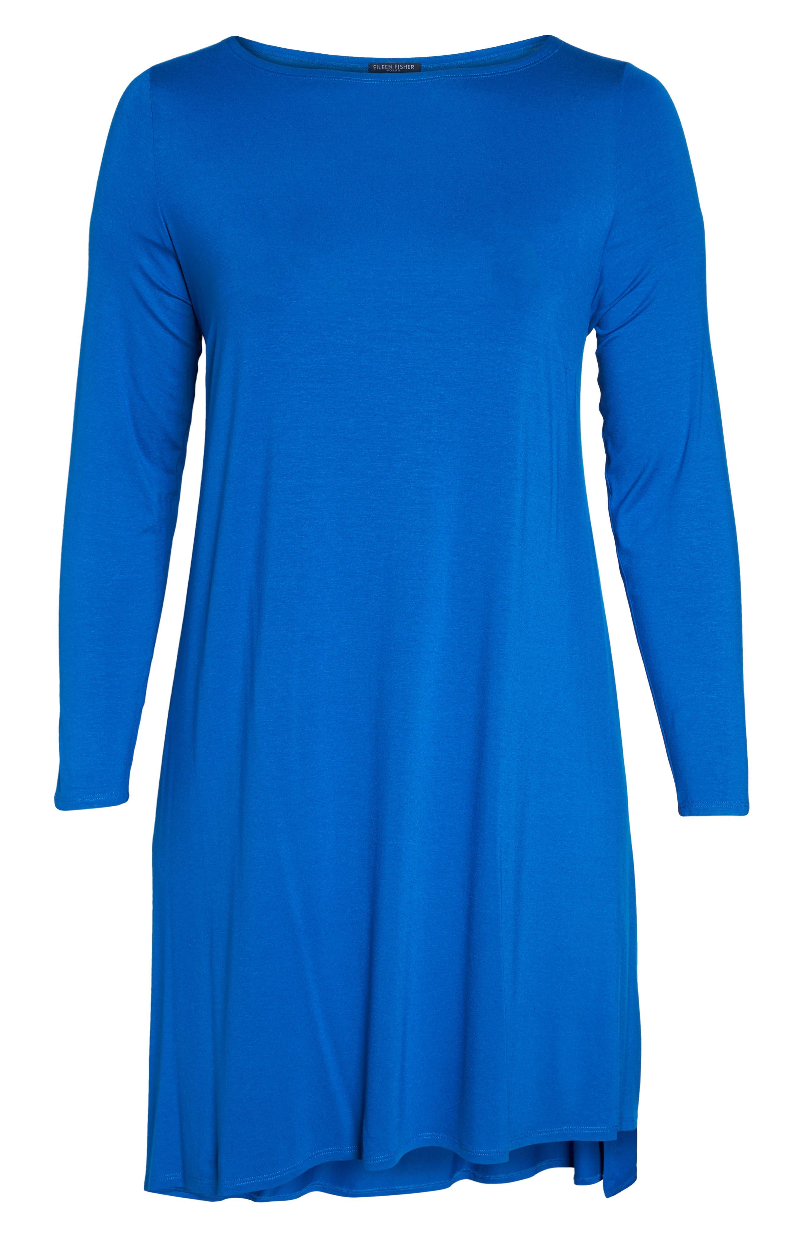 Jersey Tunic Dress,                             Alternate thumbnail 22, color,