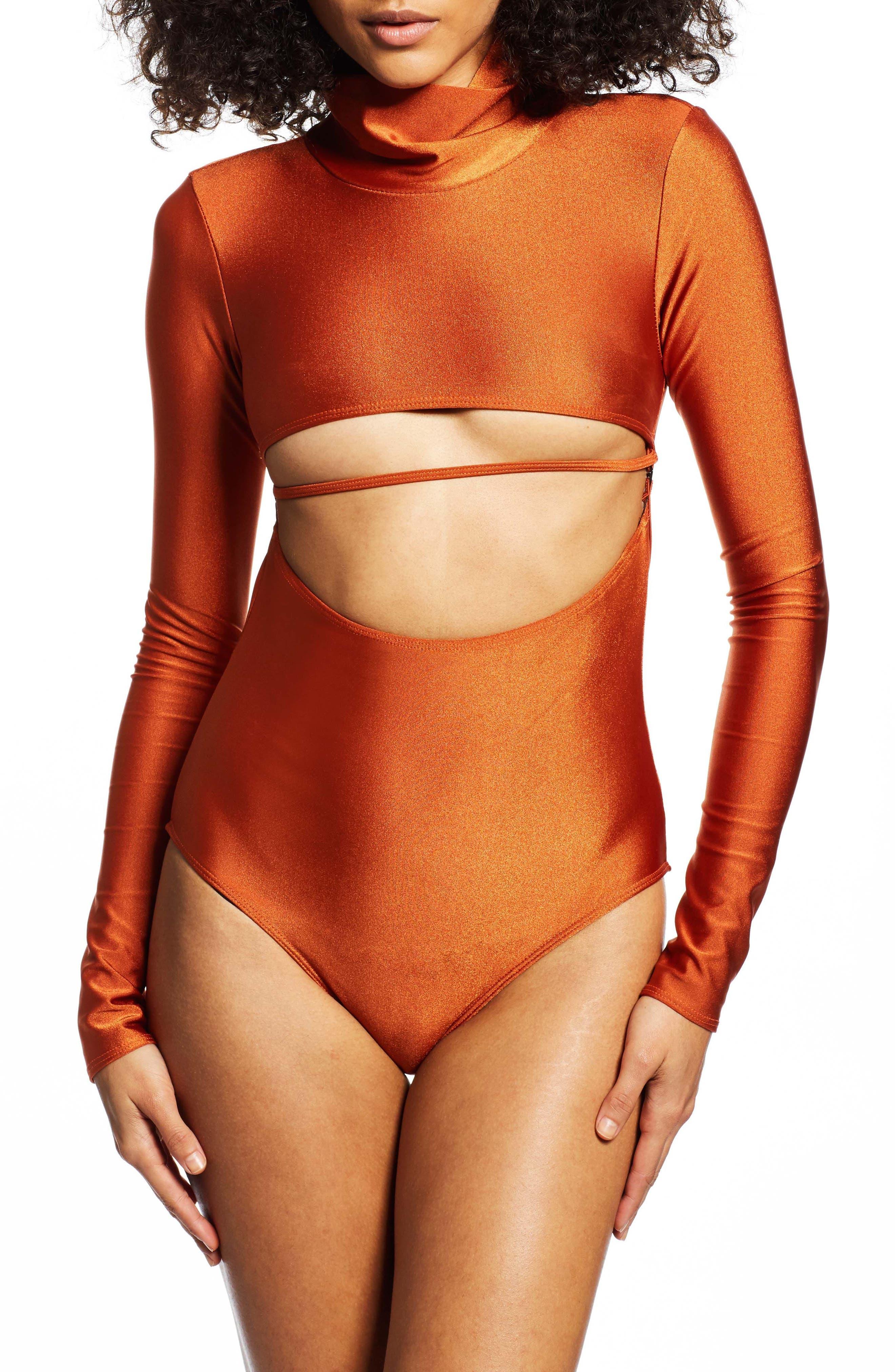 Long Sleeve Bodysuit,                         Main,                         color, 800