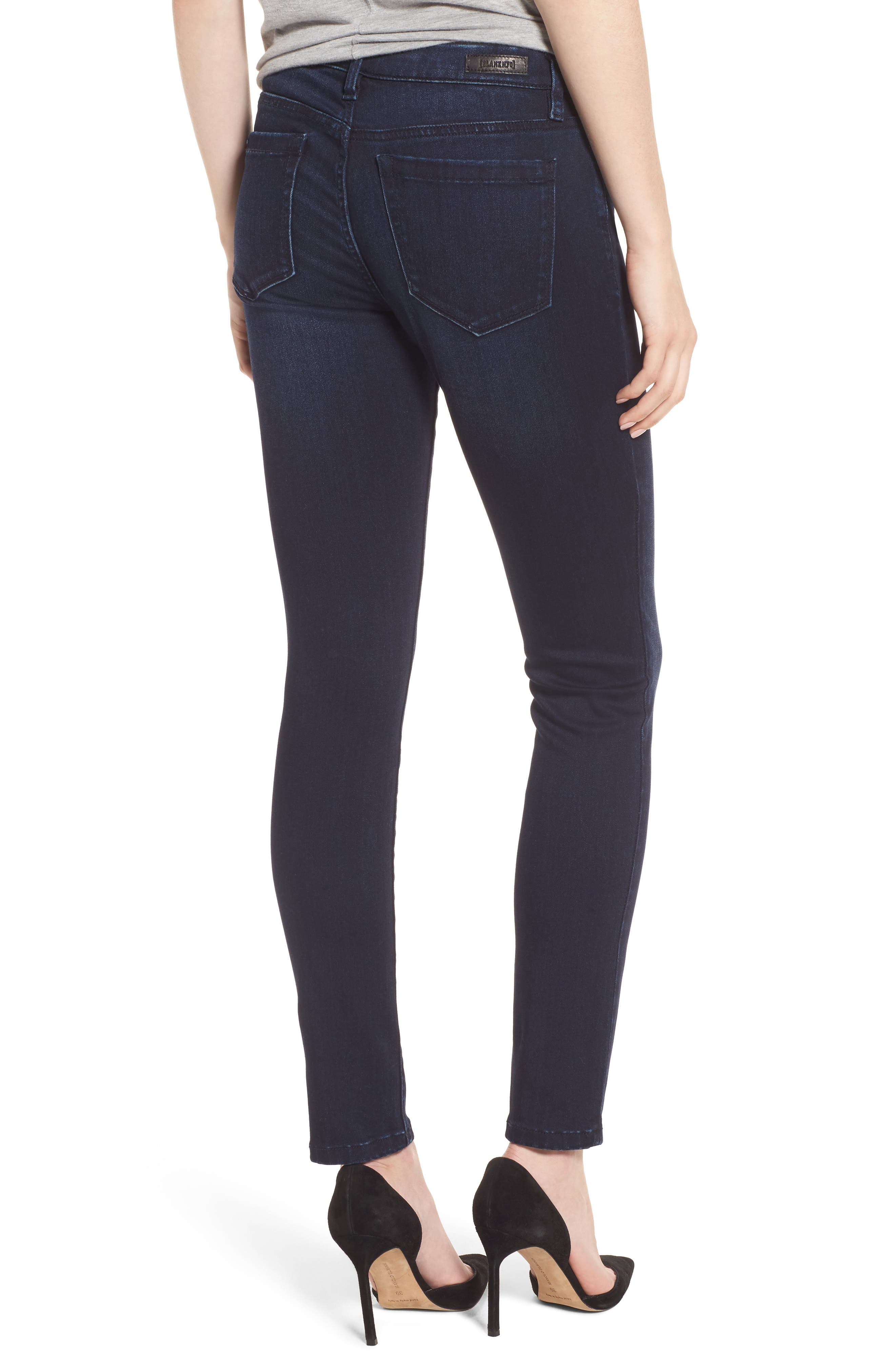 Stretch Skinny Jeans,                             Alternate thumbnail 2, color,                             401