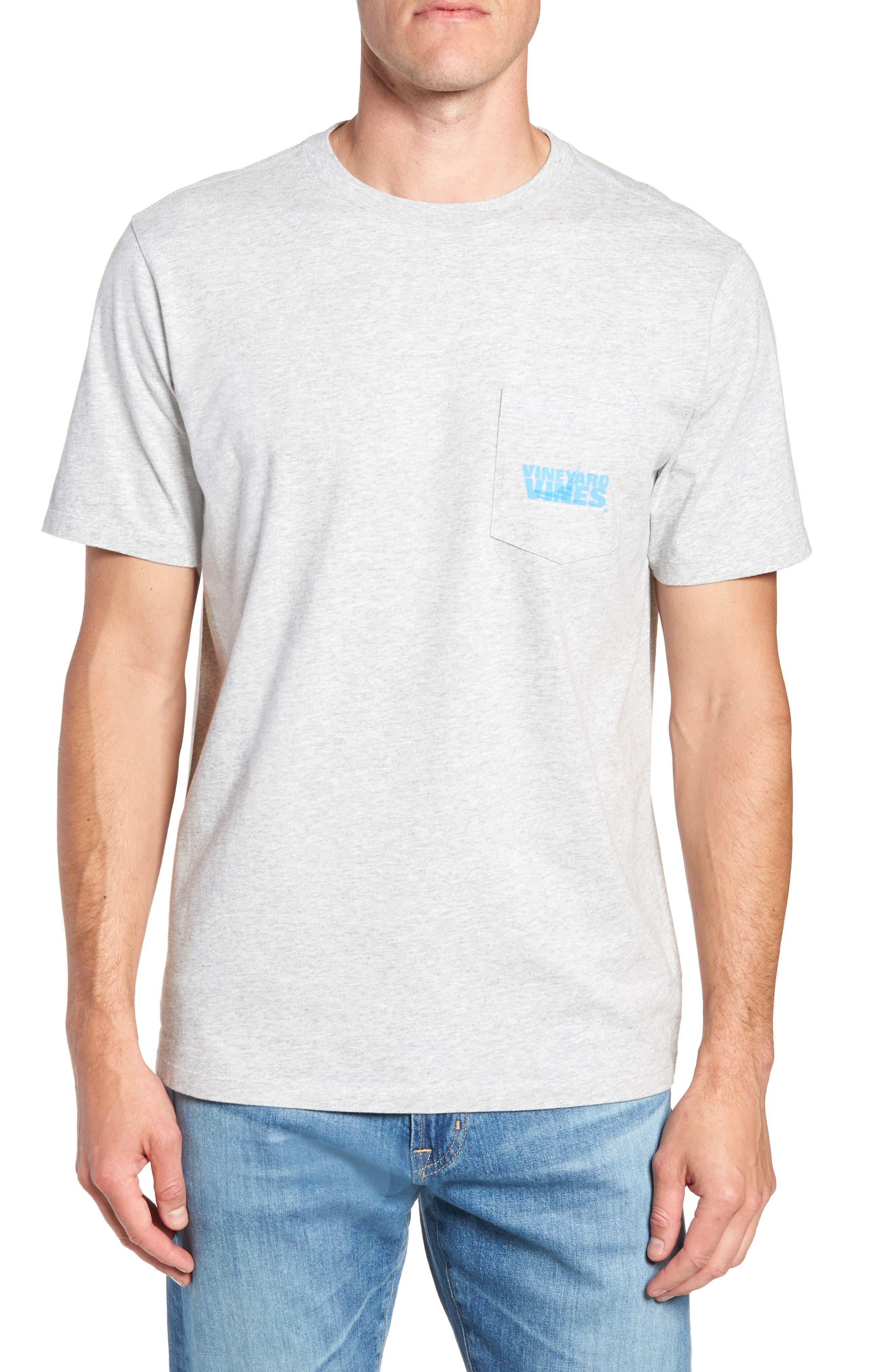 Knockout Sportfisher T-Shirt,                             Main thumbnail 1, color,                             GRAY HEATHER