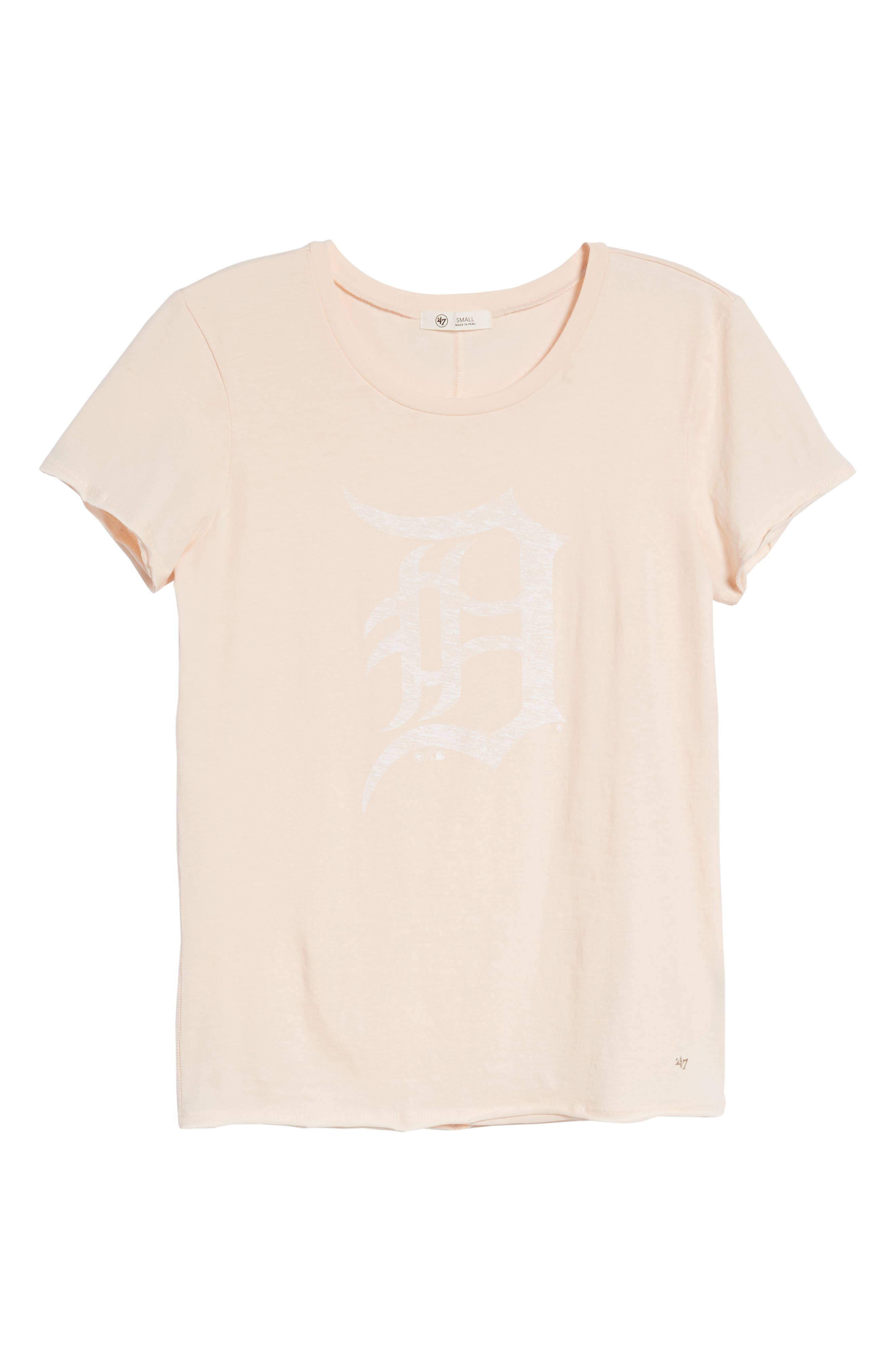 Detroit Tigers Fader Letter Tee,                             Alternate thumbnail 7, color,