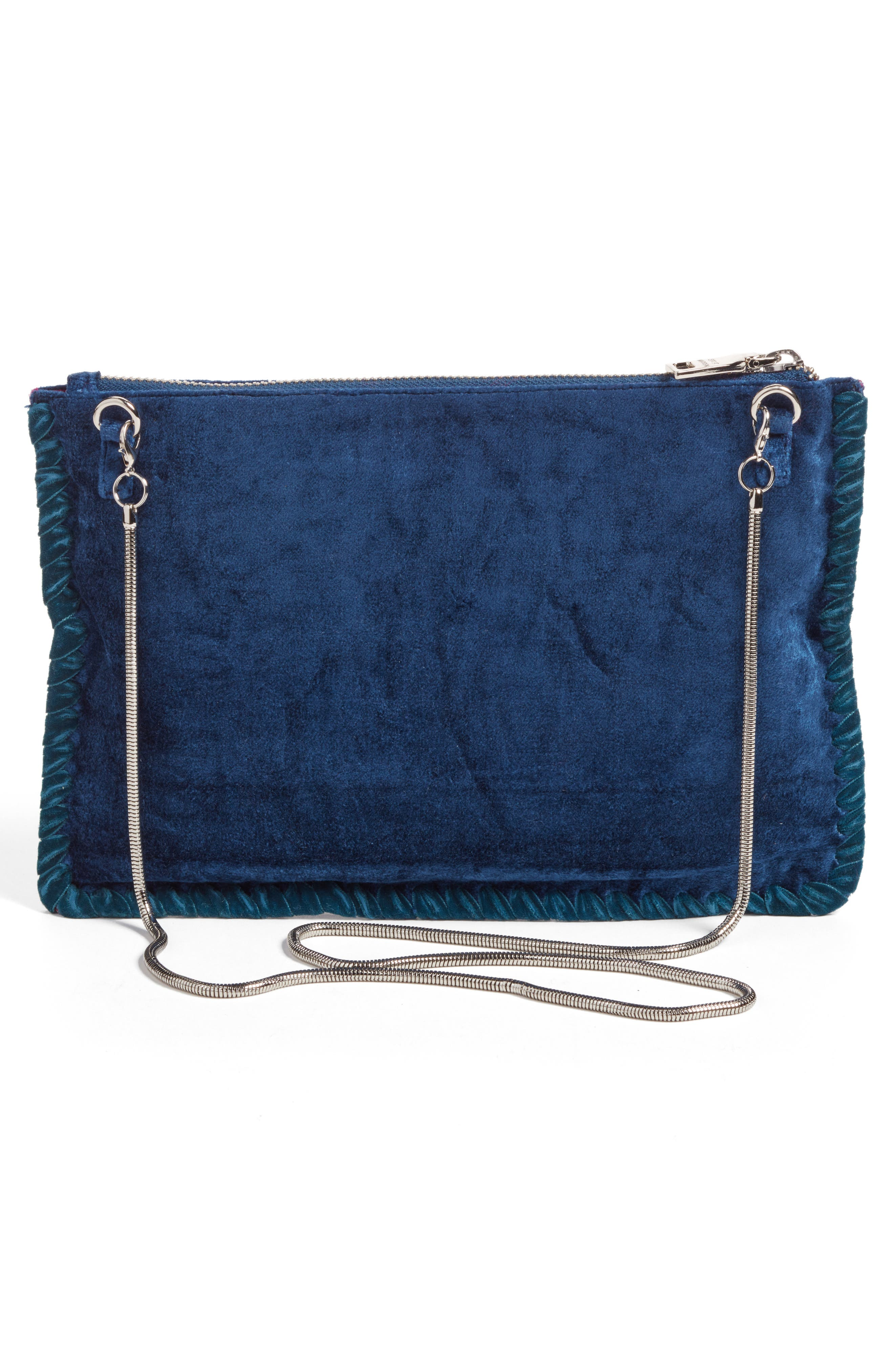 Embellished Clutch,                             Alternate thumbnail 3, color,