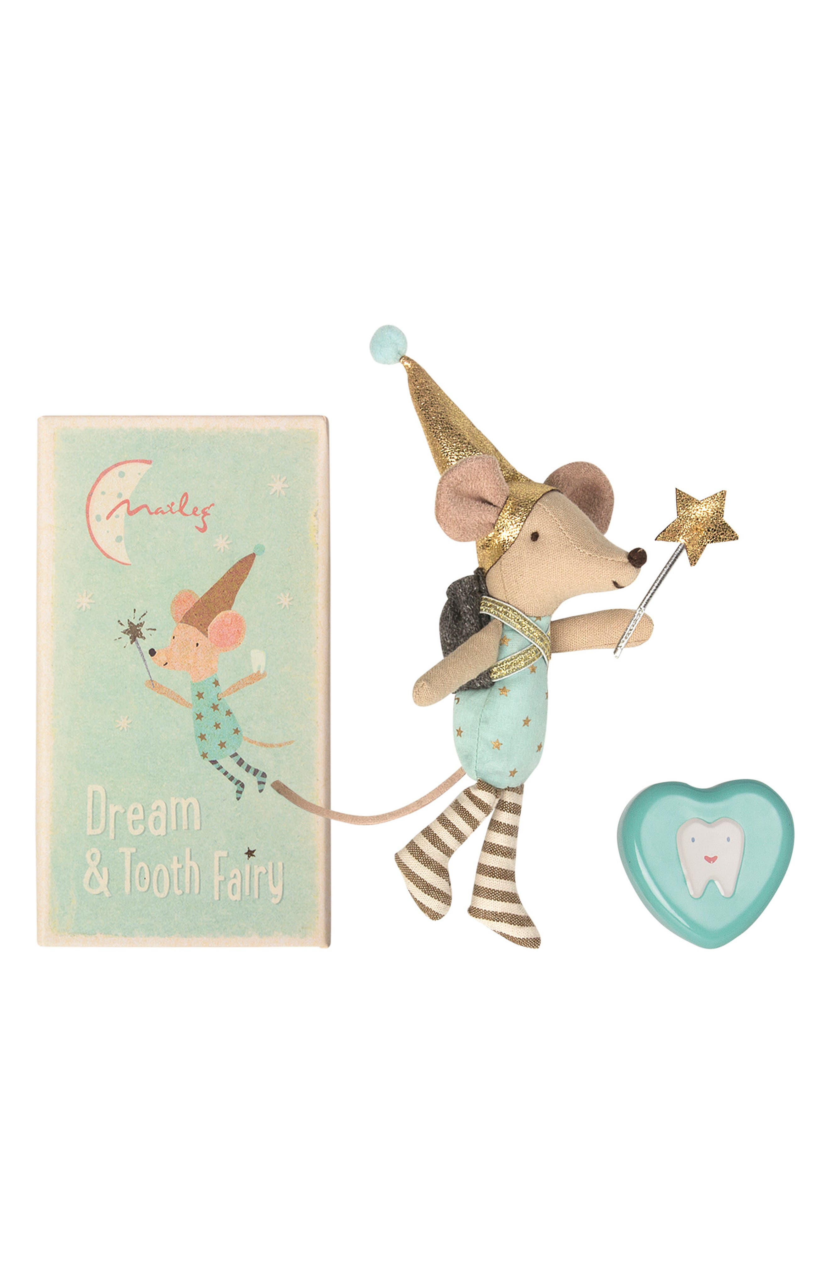 Tooth Fairy Big Brother Plush Toy,                             Main thumbnail 1, color,                             BLUE