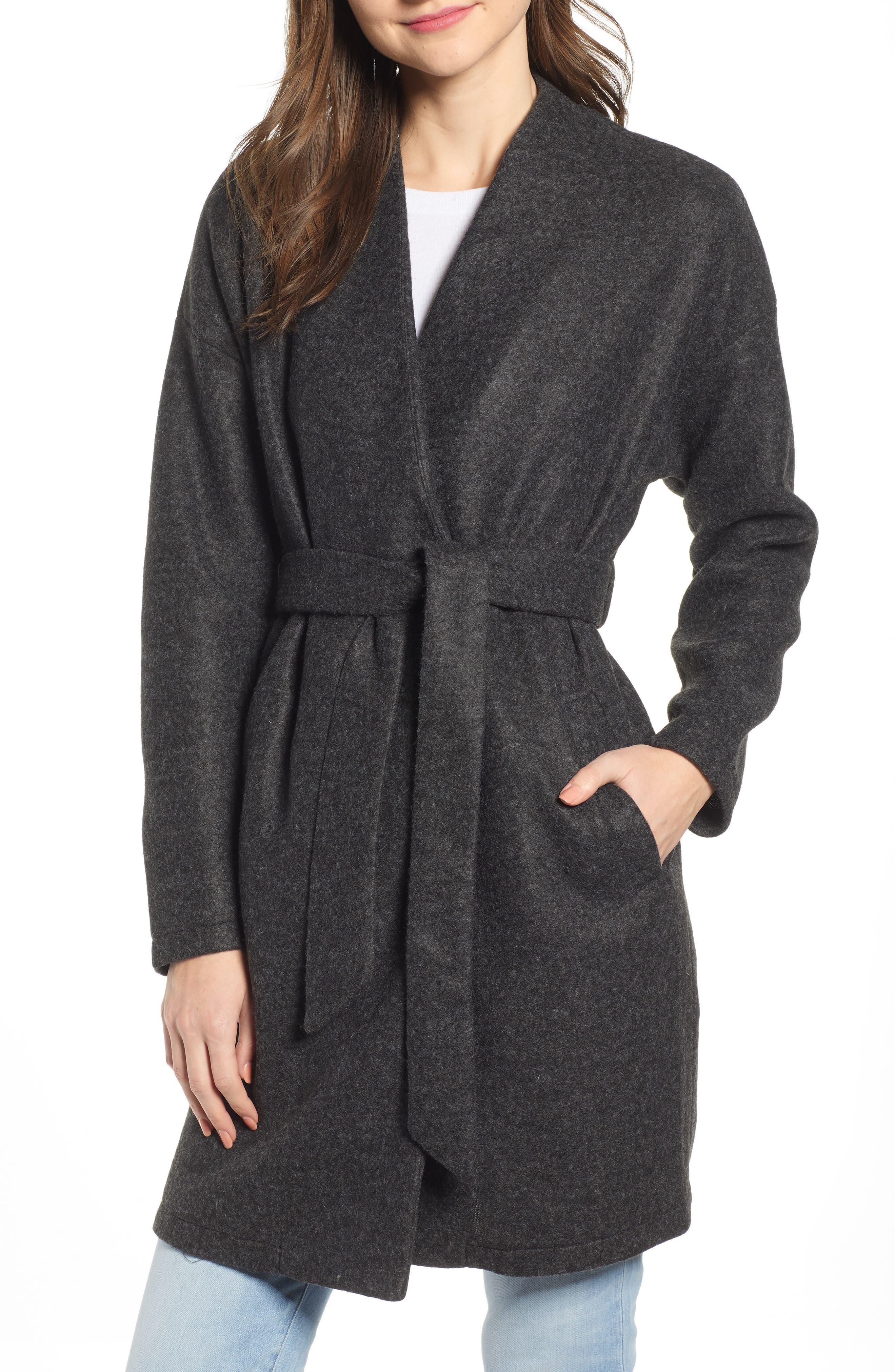 Vero Moda Brushed Fleece Jacket, Grey