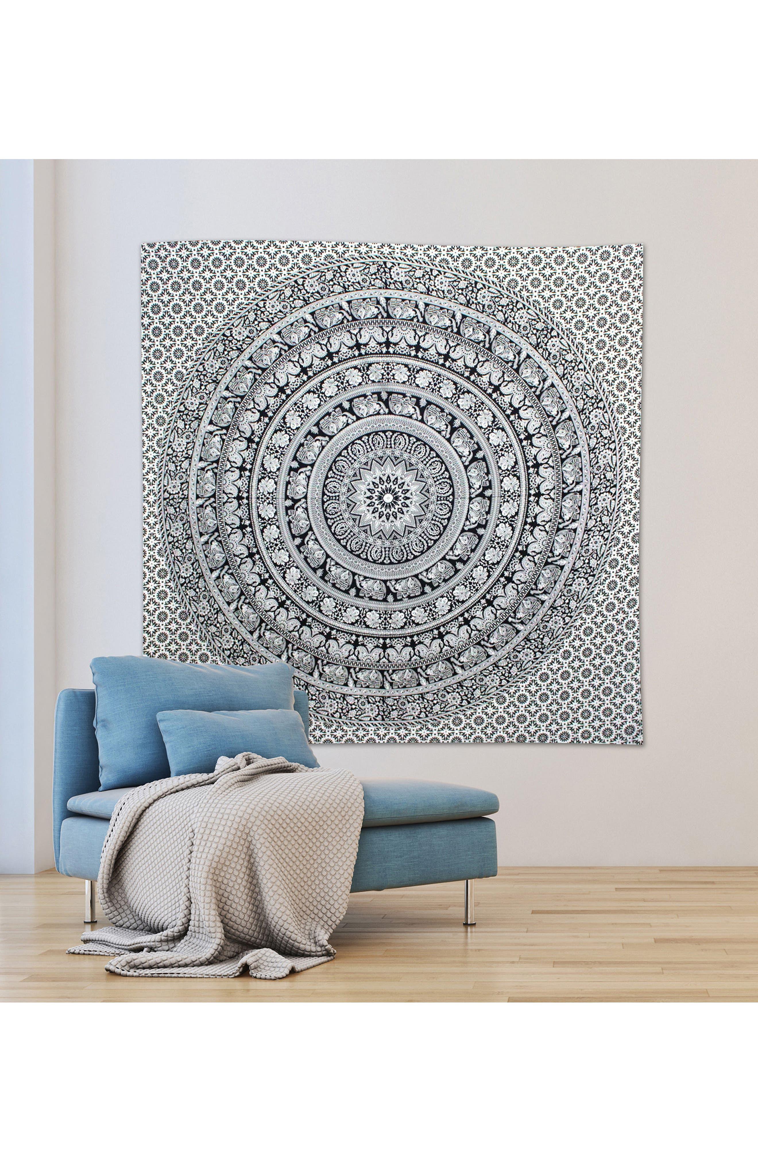 Kashvi Wall Tapestry,                             Alternate thumbnail 2, color,