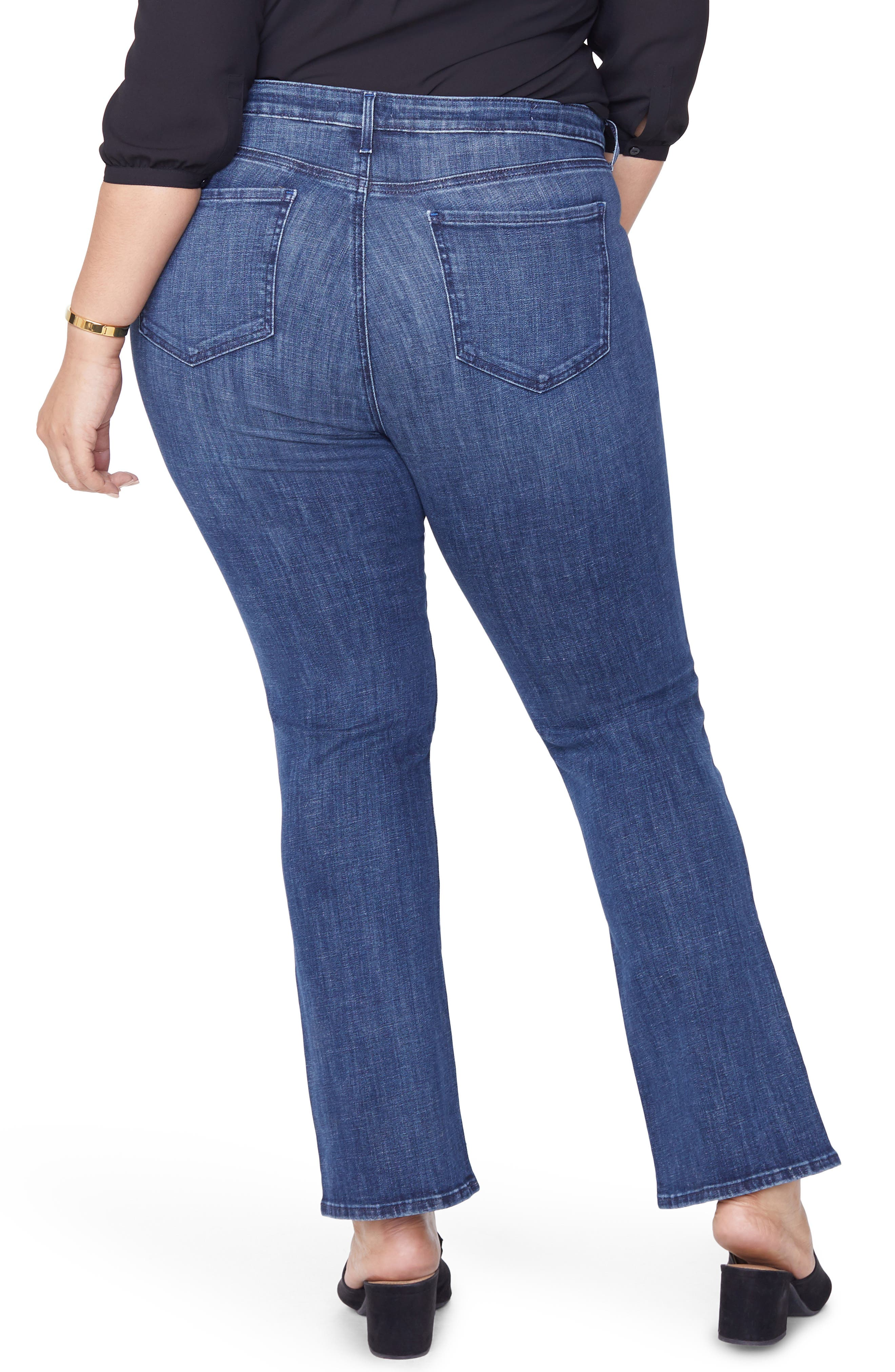 Barbara Bootcut Jeans,                             Alternate thumbnail 2, color,                             LUPINE