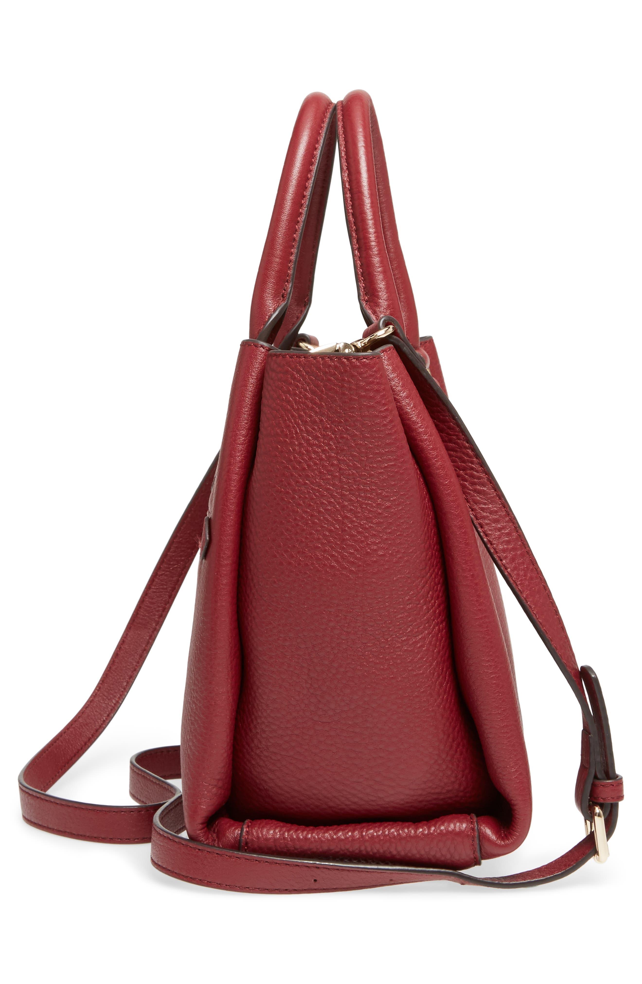 Céline Dion Small Adagio Leather Satchel,                             Alternate thumbnail 25, color,