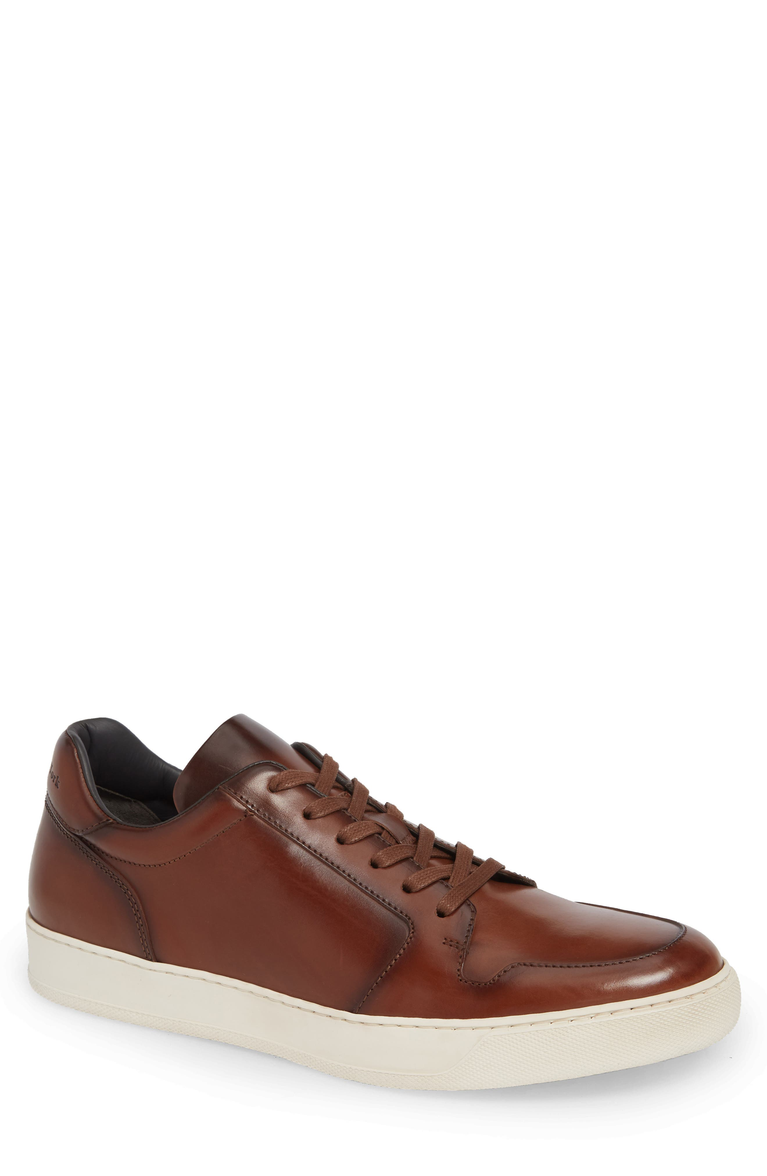 Munich Sneaker,                         Main,                         color, MARRONE LEATHER