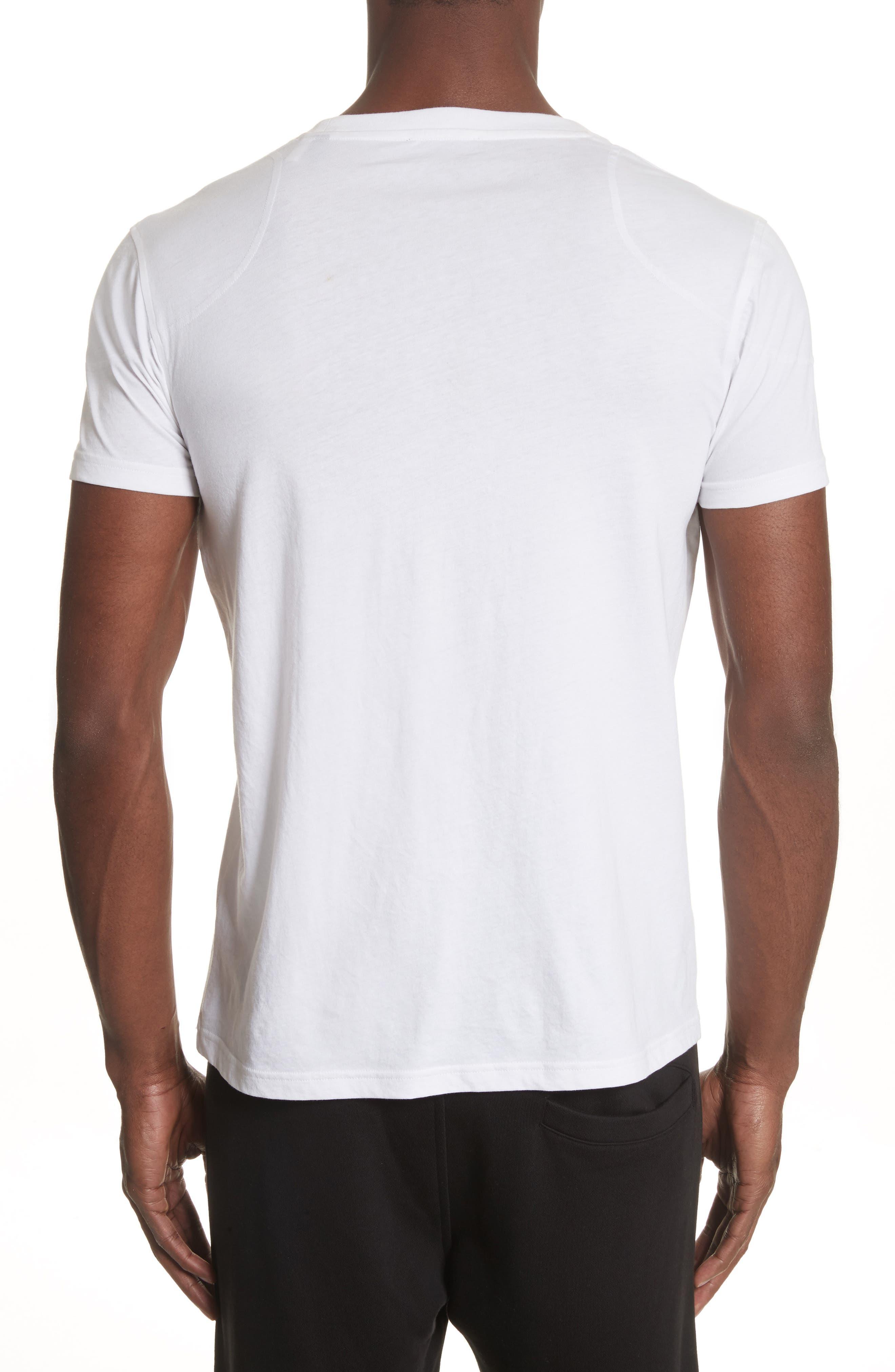 Throwley Logo T-Shirt,                             Alternate thumbnail 2, color,                             WHITE