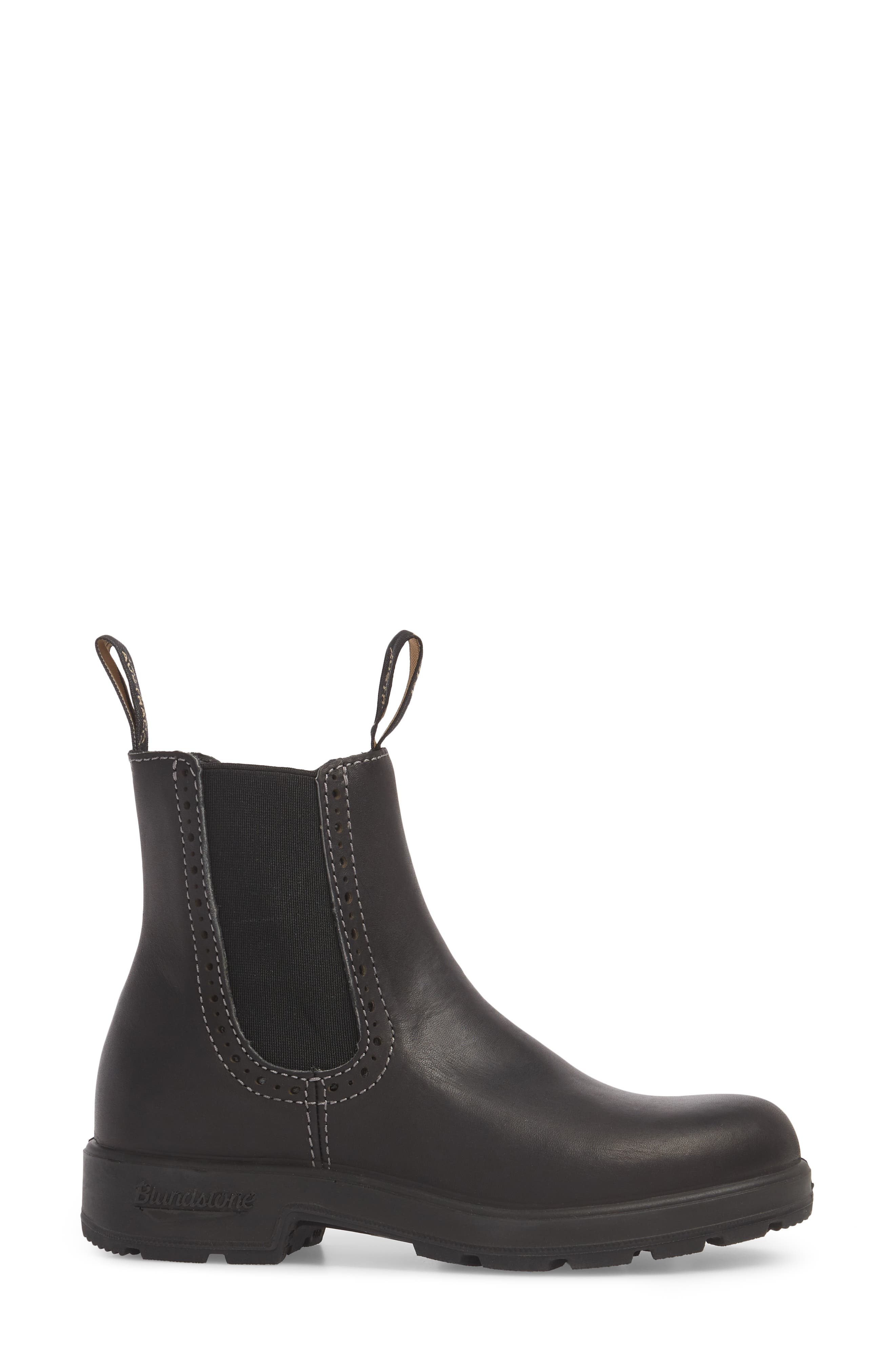 Footwear Chelsea Boot,                             Alternate thumbnail 3, color,                             VOLTAN BLACK LEATHER