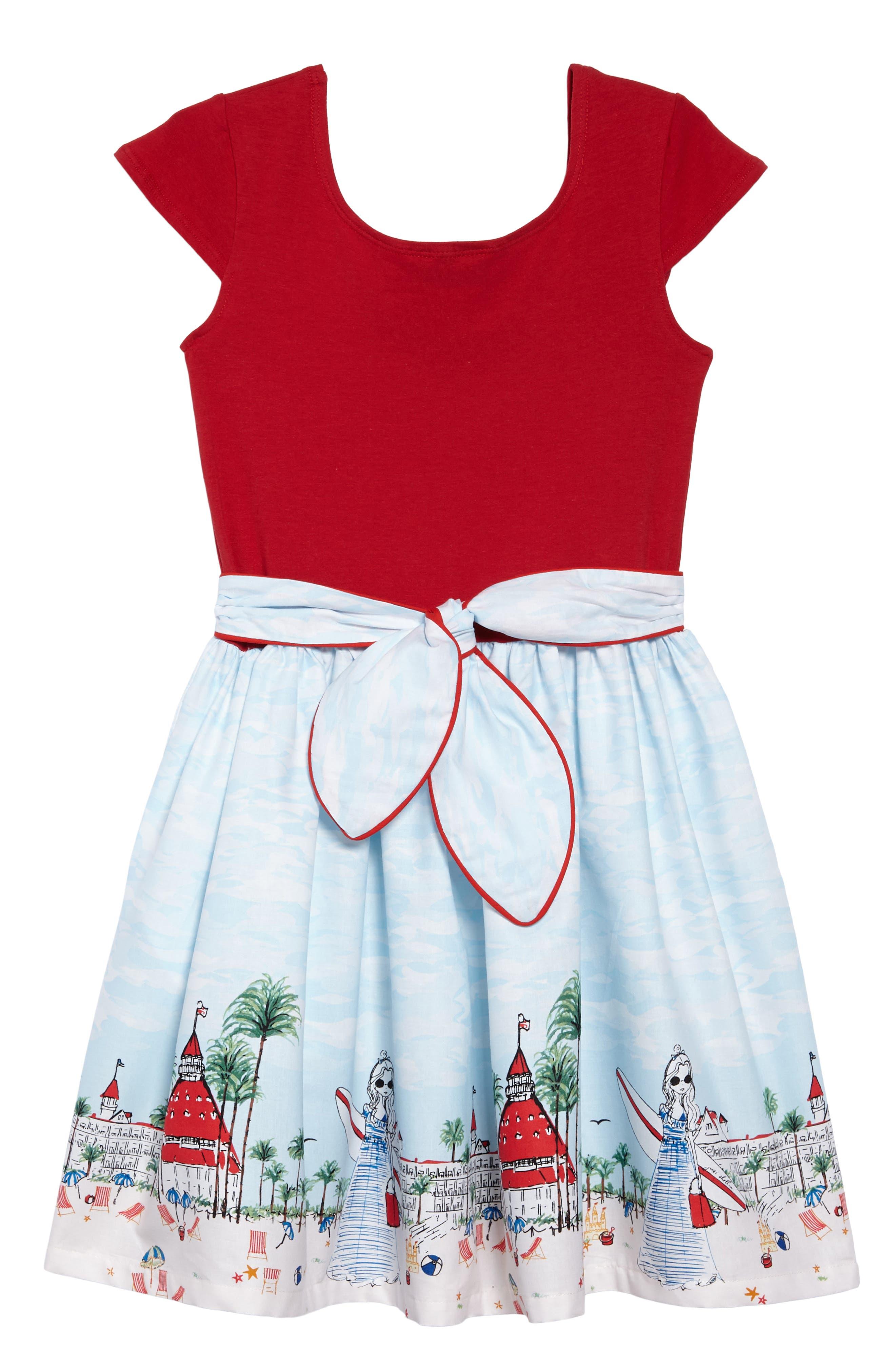 Just Shellin Abbie Dress,                             Alternate thumbnail 2, color,                             600