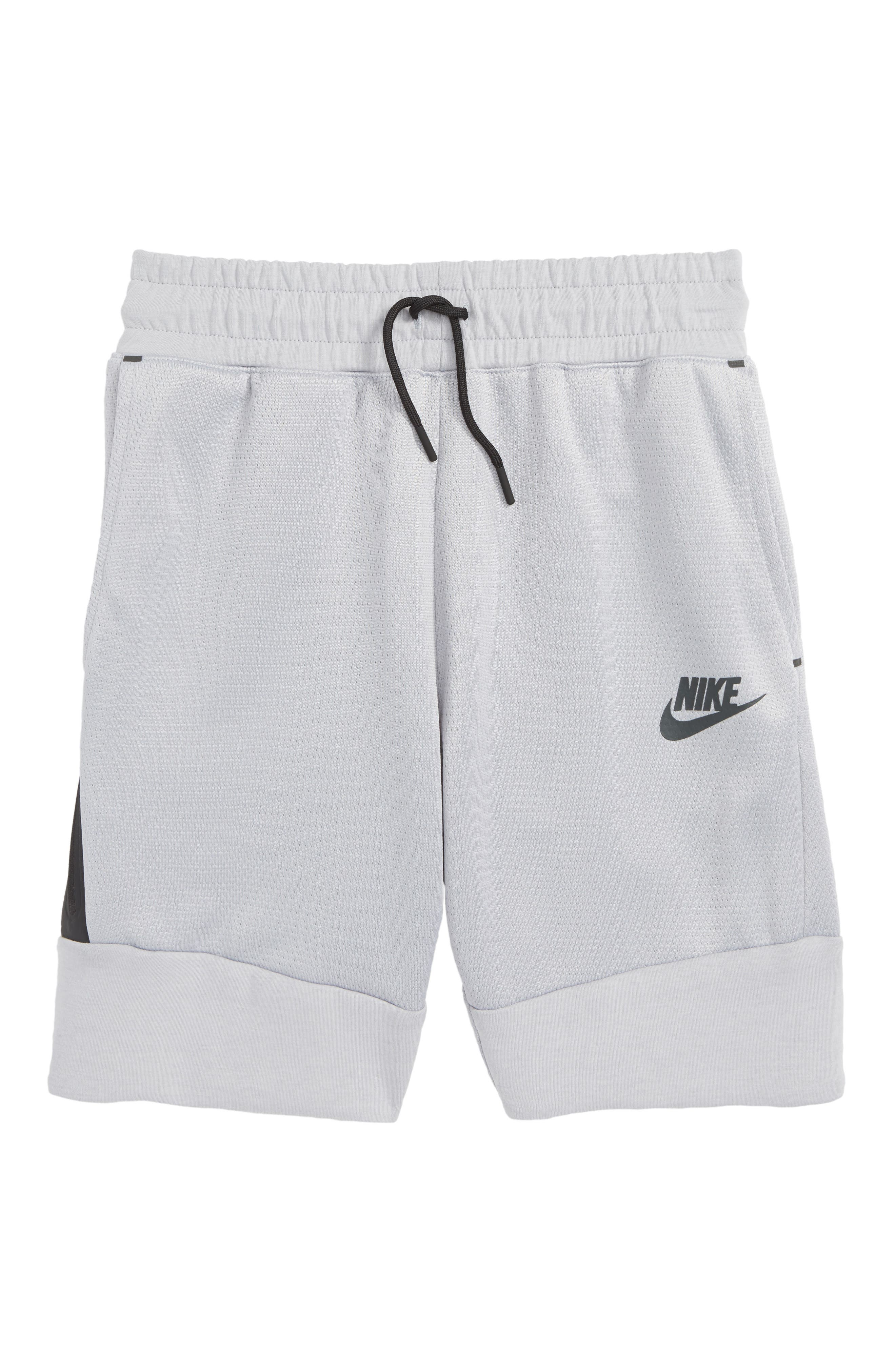 Sportswear Tech Fleece Shorts,                             Main thumbnail 1, color,                             WOLF GREY/ ANTHRACITE