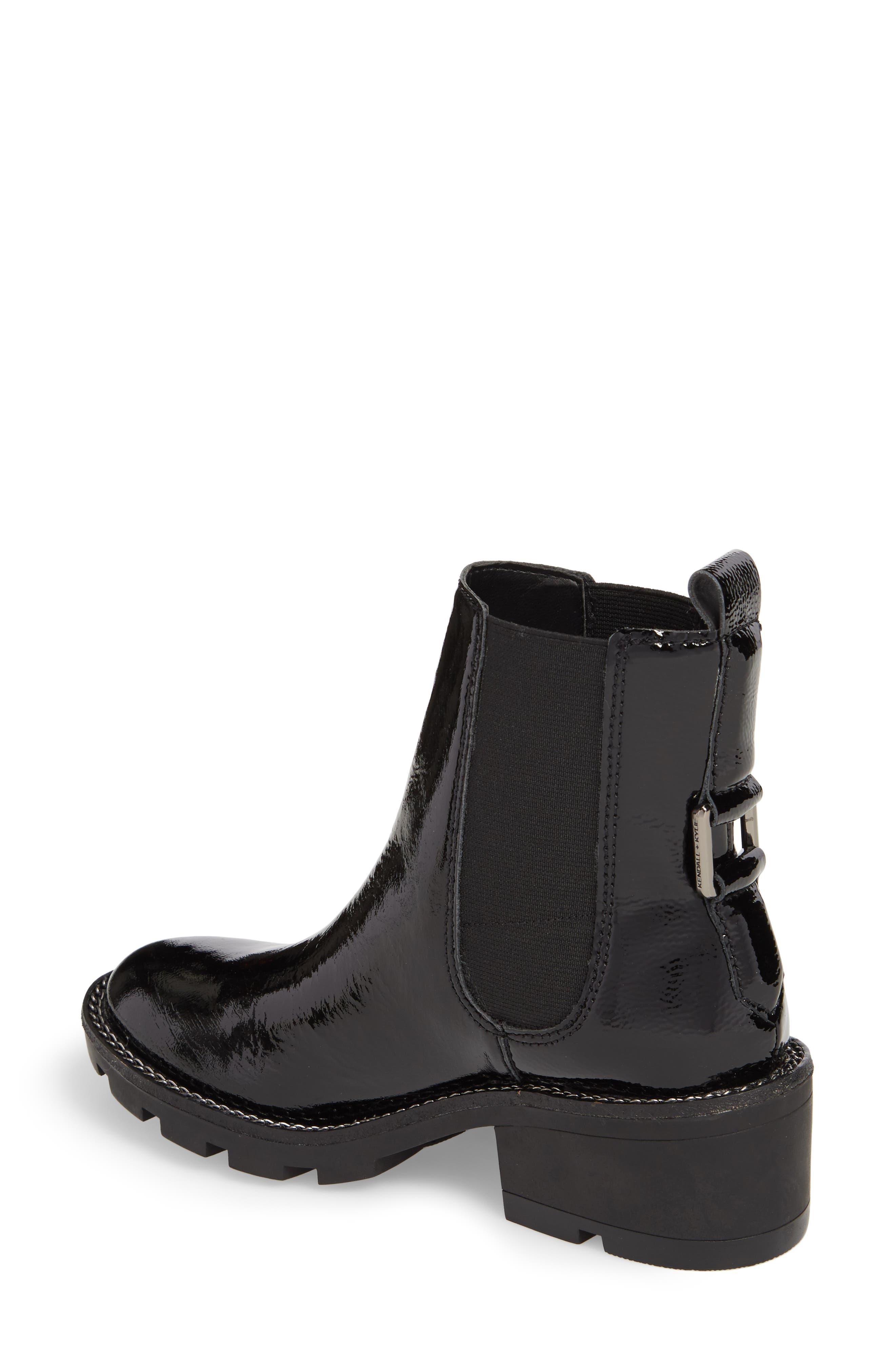 STEVE MADDEN,                             Granite Embellished Zip Boot,                             Alternate thumbnail 2, color,                             001