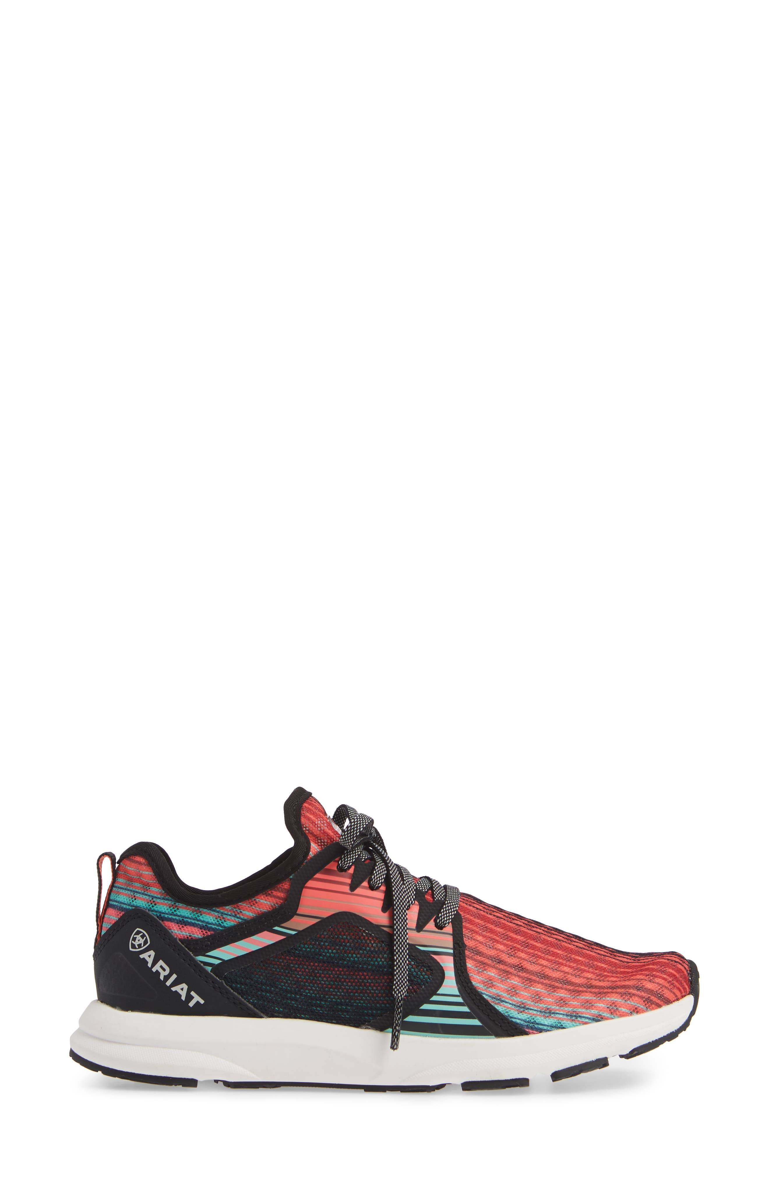 ARIAT,                             Fuse Print Sneaker,                             Alternate thumbnail 3, color,                             SOUTHWESTERN FABRIC