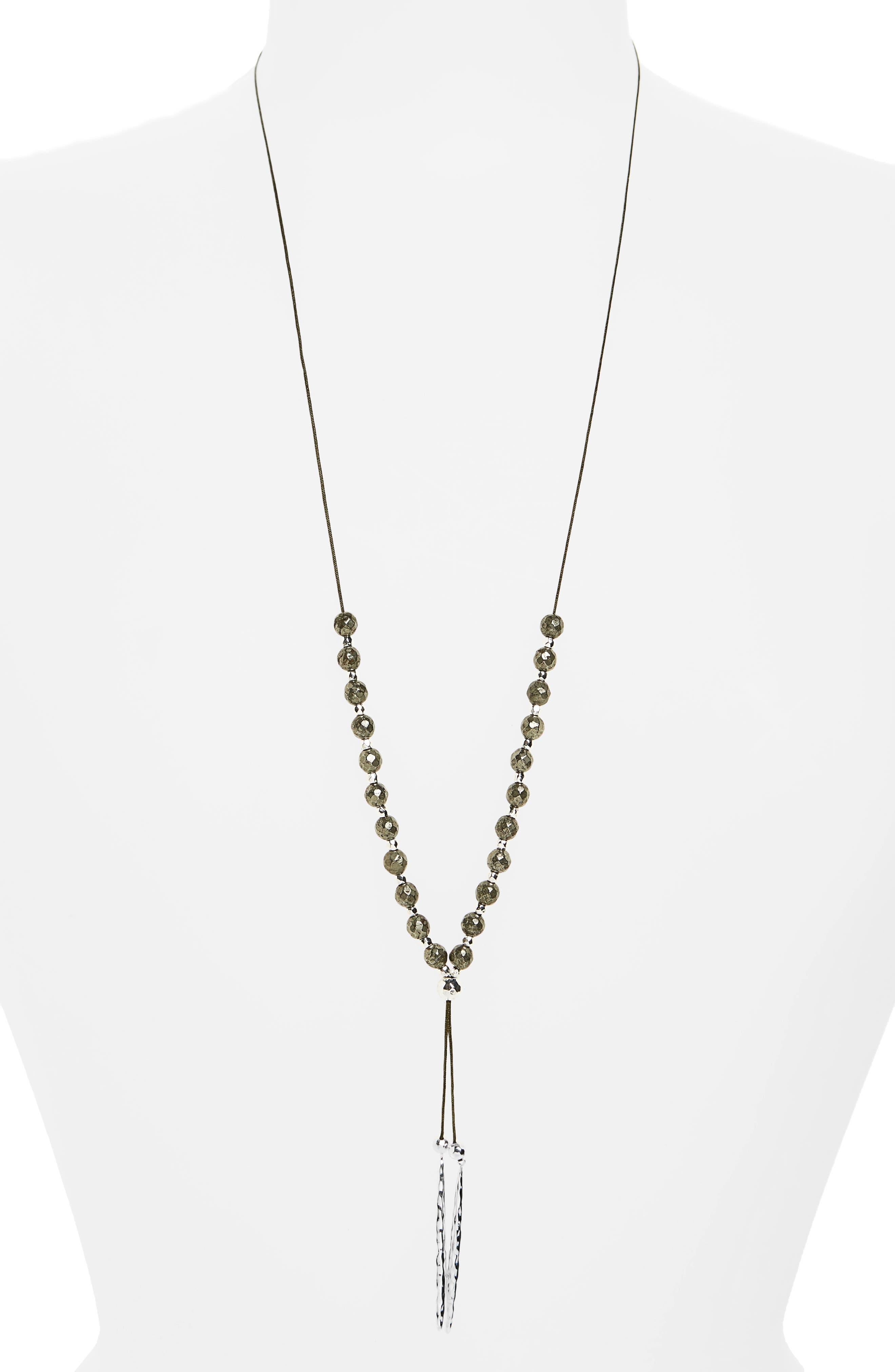 Power Gemstone Convertible Necklace,                             Main thumbnail 6, color,