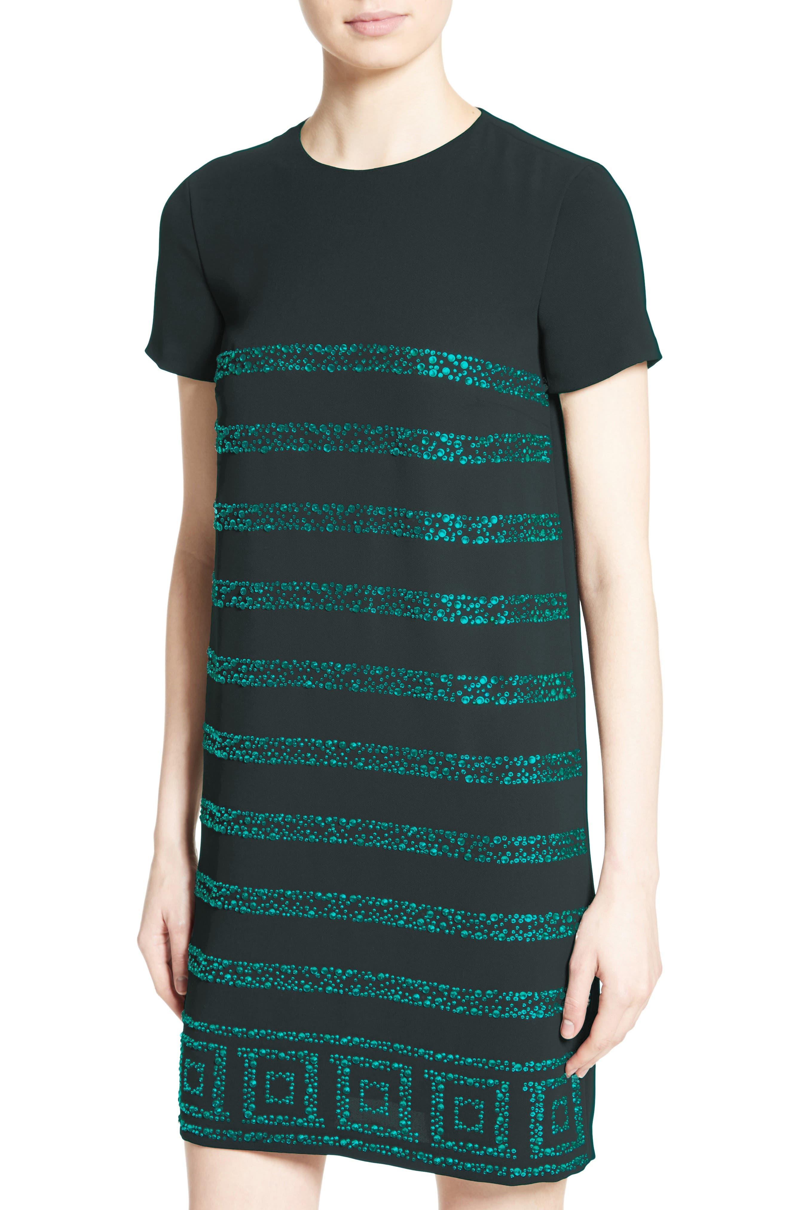 Rhinestone Dress,                             Alternate thumbnail 4, color,                             440