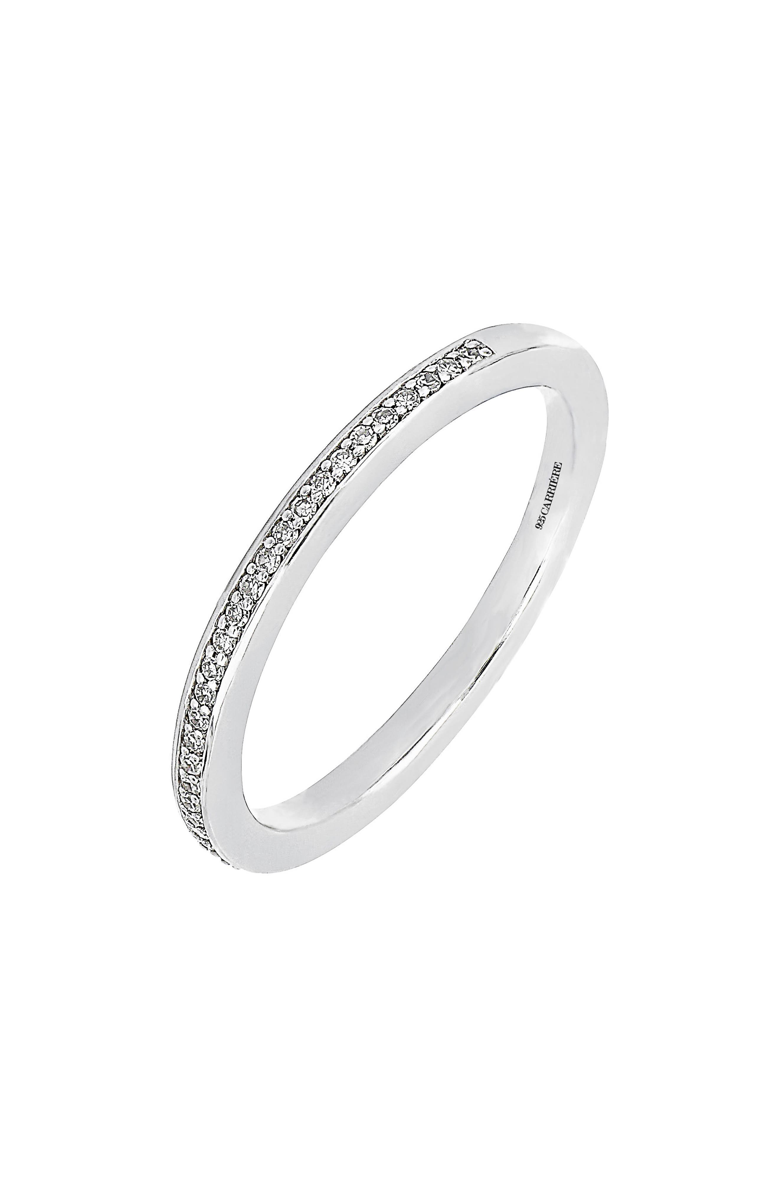 Carrière Diamond Stacking Ring,                         Main,                         color, 040