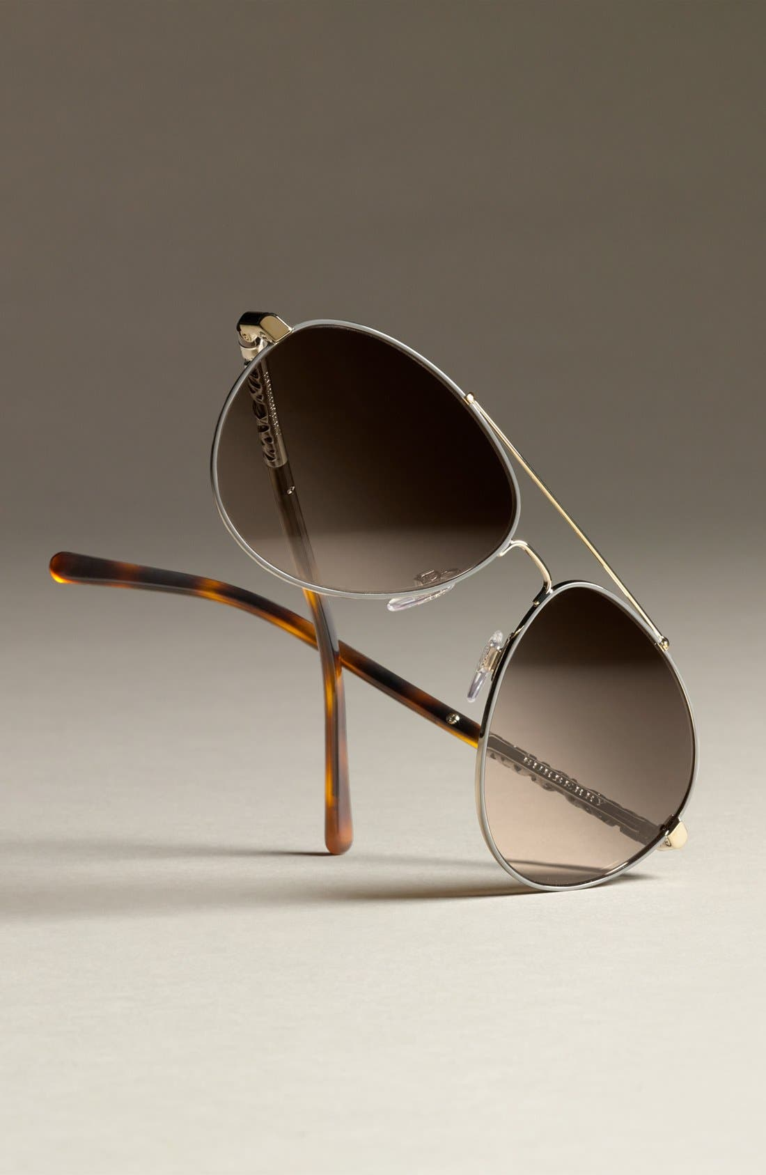 58mm Aviator Sunglasses,                             Alternate thumbnail 3, color,                             020