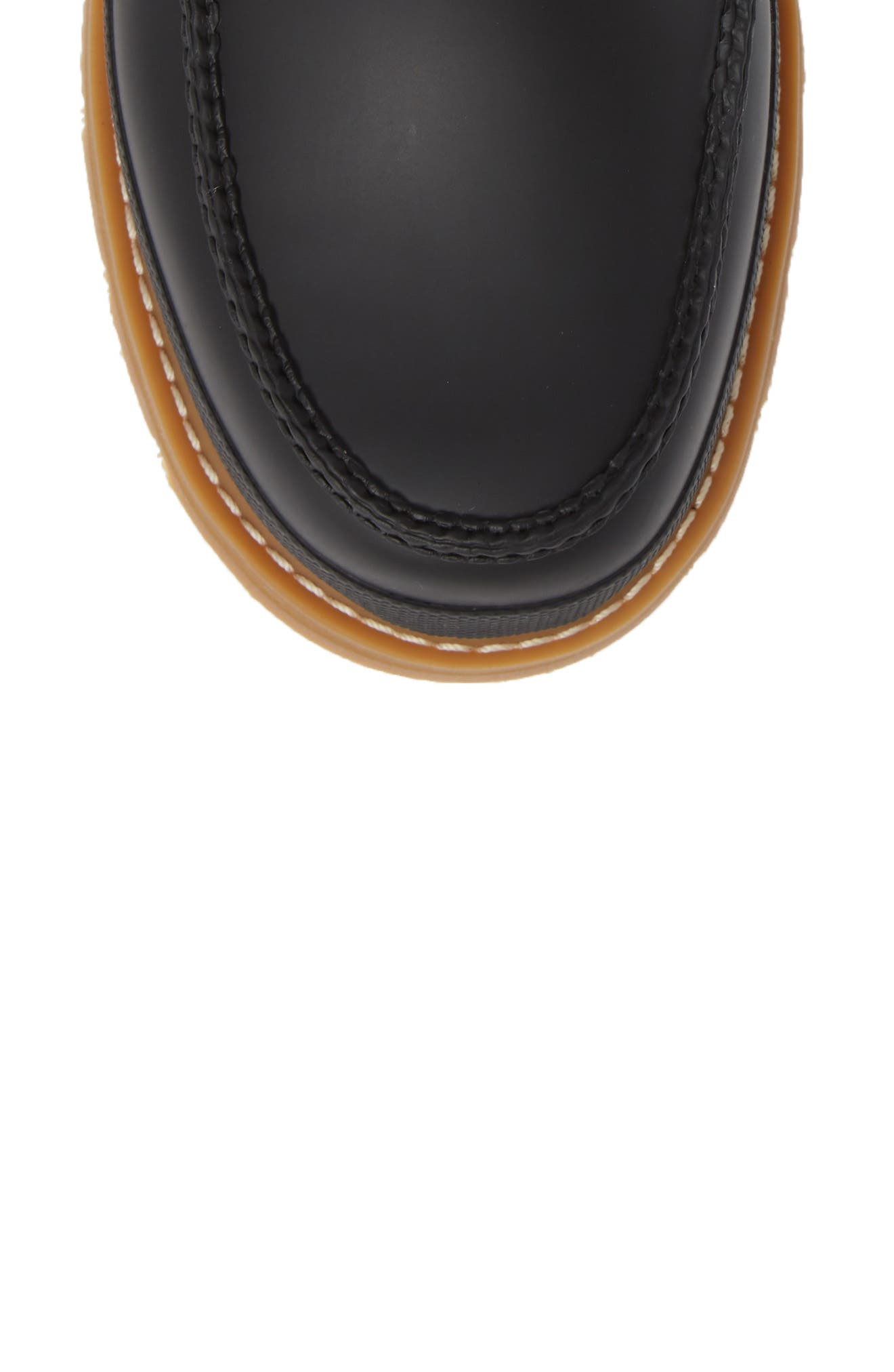HUNTER,                             Waterproof Lightweight Short Boot,                             Alternate thumbnail 5, color,                             BLACK