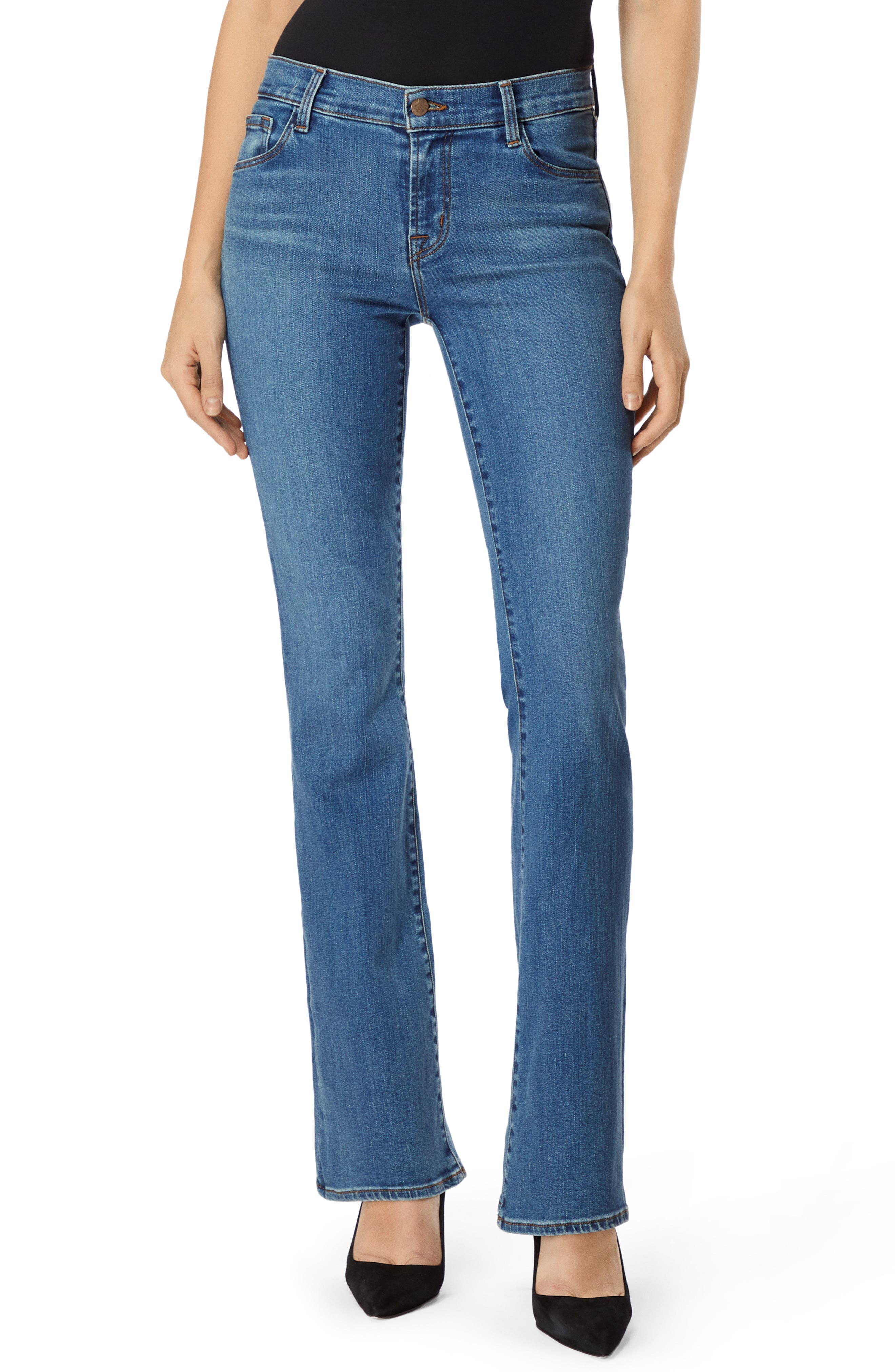 Selena 32 Mid Rise Bootcut Jeans In Lovesick