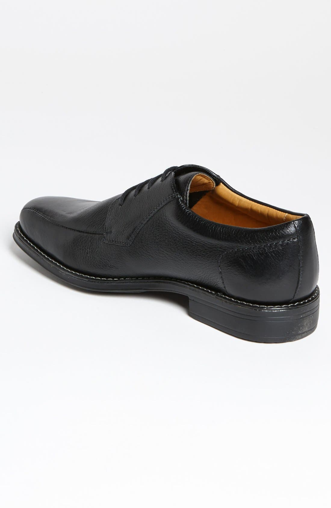 'Belmont' Bicycle Toe Derby,                             Alternate thumbnail 2, color,                             BLACK