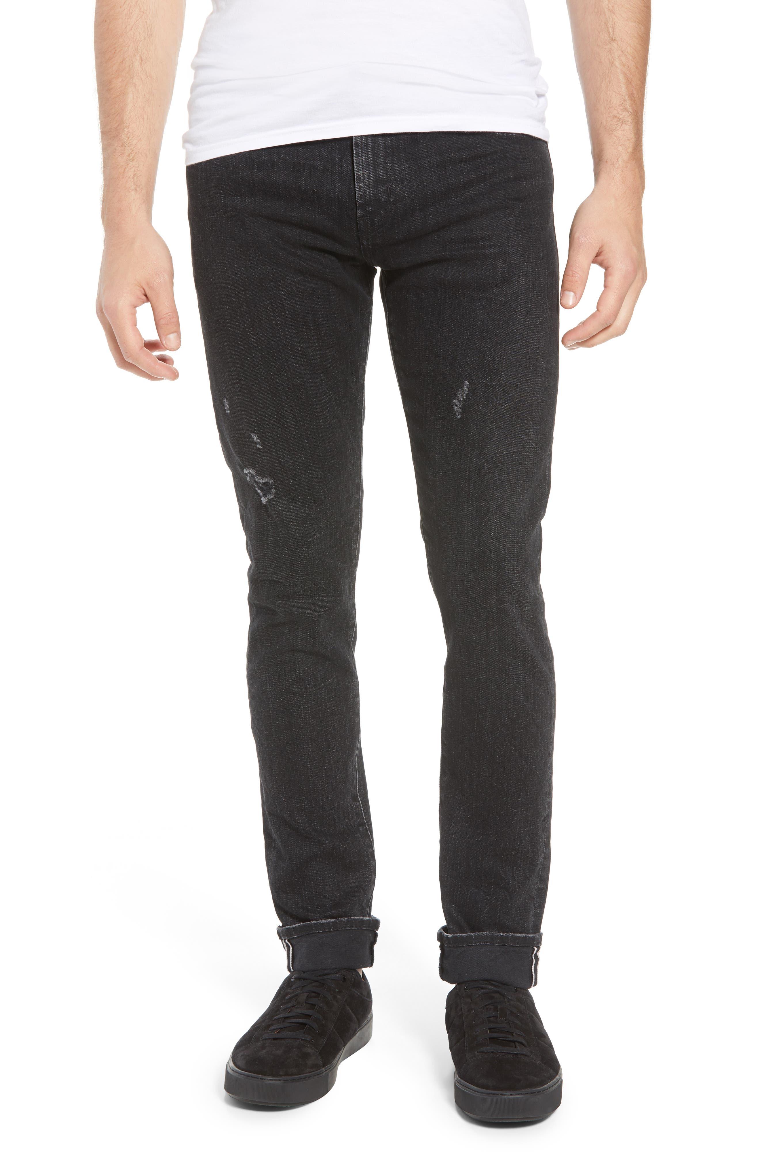 Tyler Slim Fit Jeans,                             Main thumbnail 1, color,                             009