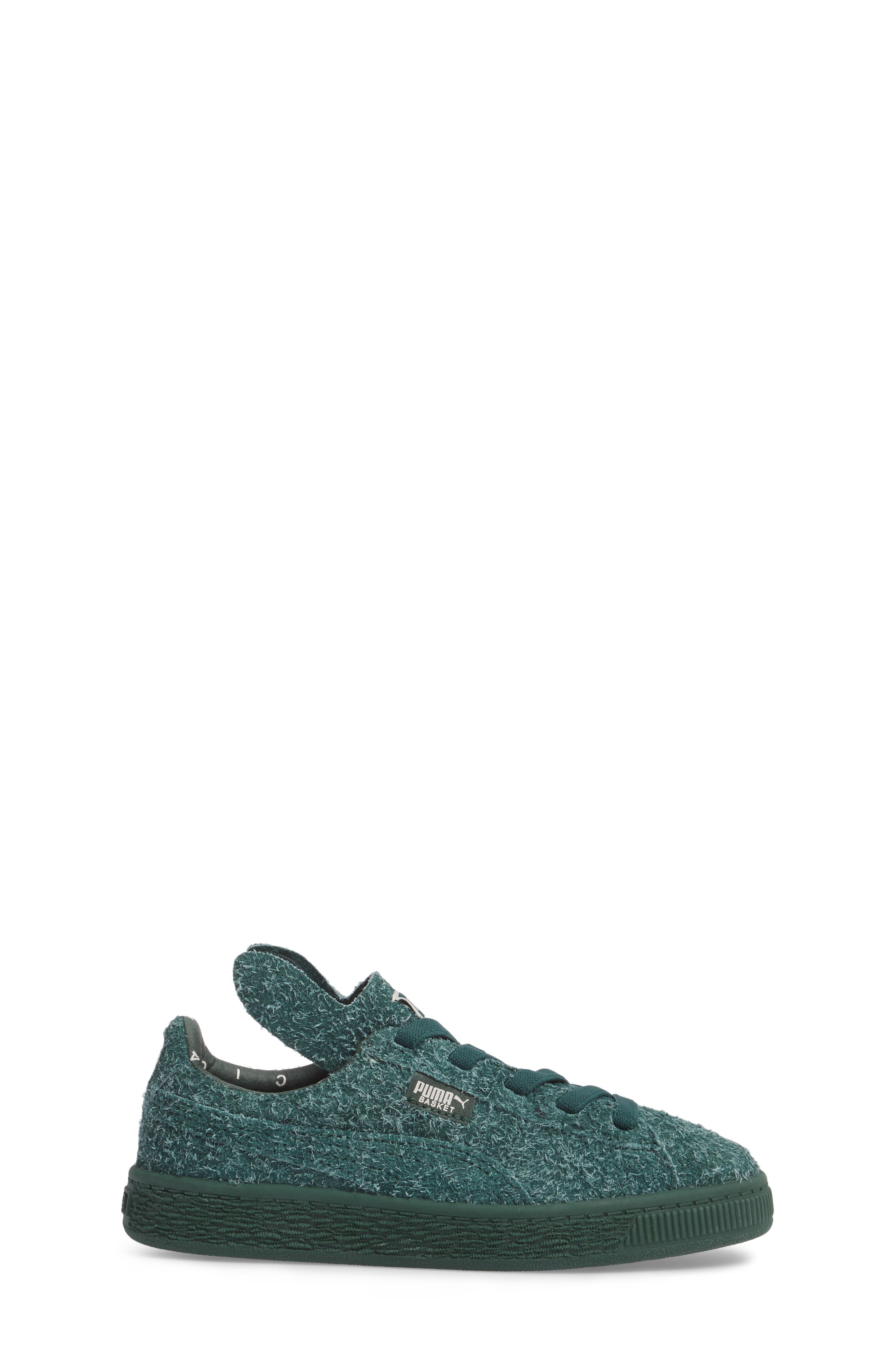 x tinycottons Basket Furry Sneaker,                             Alternate thumbnail 3, color,                             300