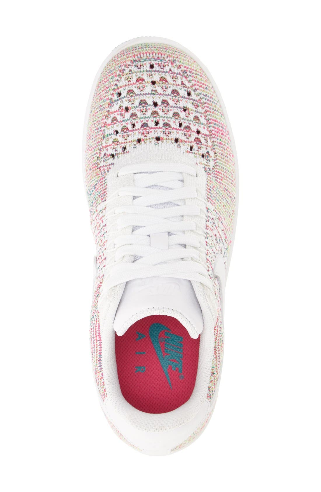'Air Force 1 Flyknit Low' Sneaker,                             Alternate thumbnail 21, color,