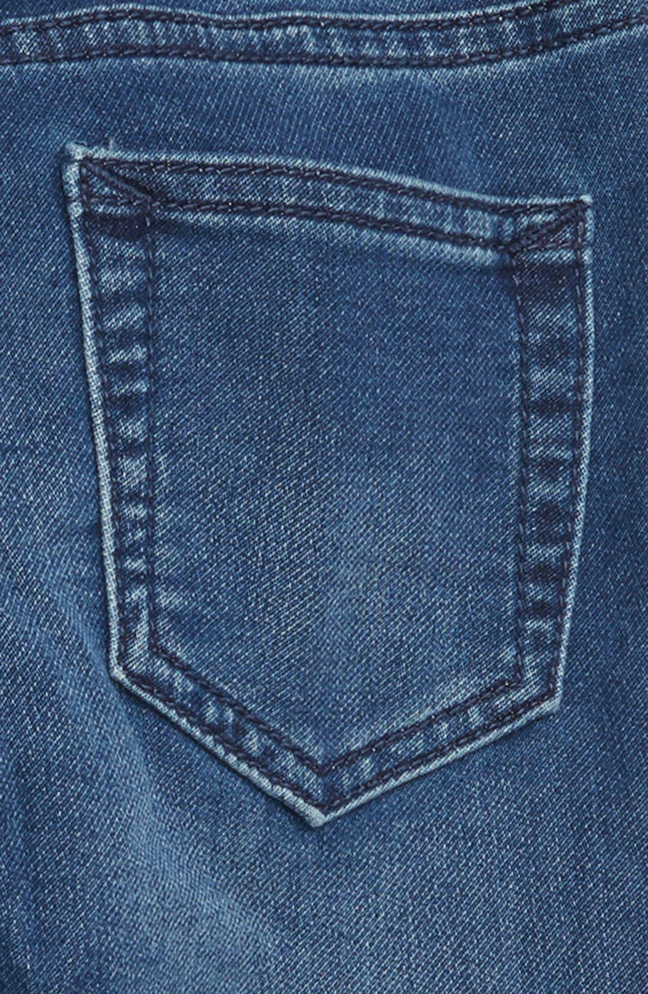 Denim Jogger Pants,                             Alternate thumbnail 3, color,                             420
