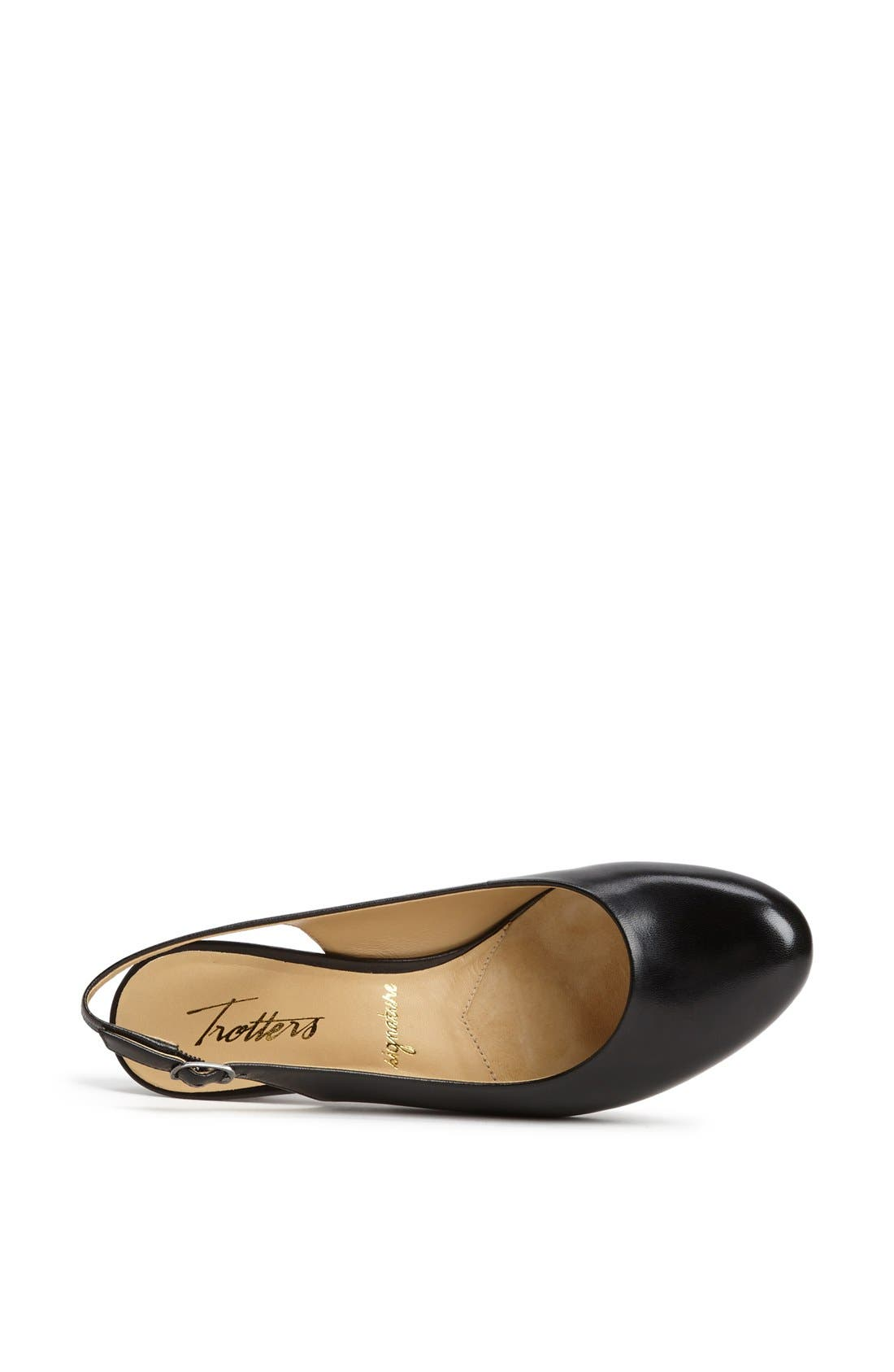 'Pella' Slingback Pump,                             Alternate thumbnail 4, color,                             001