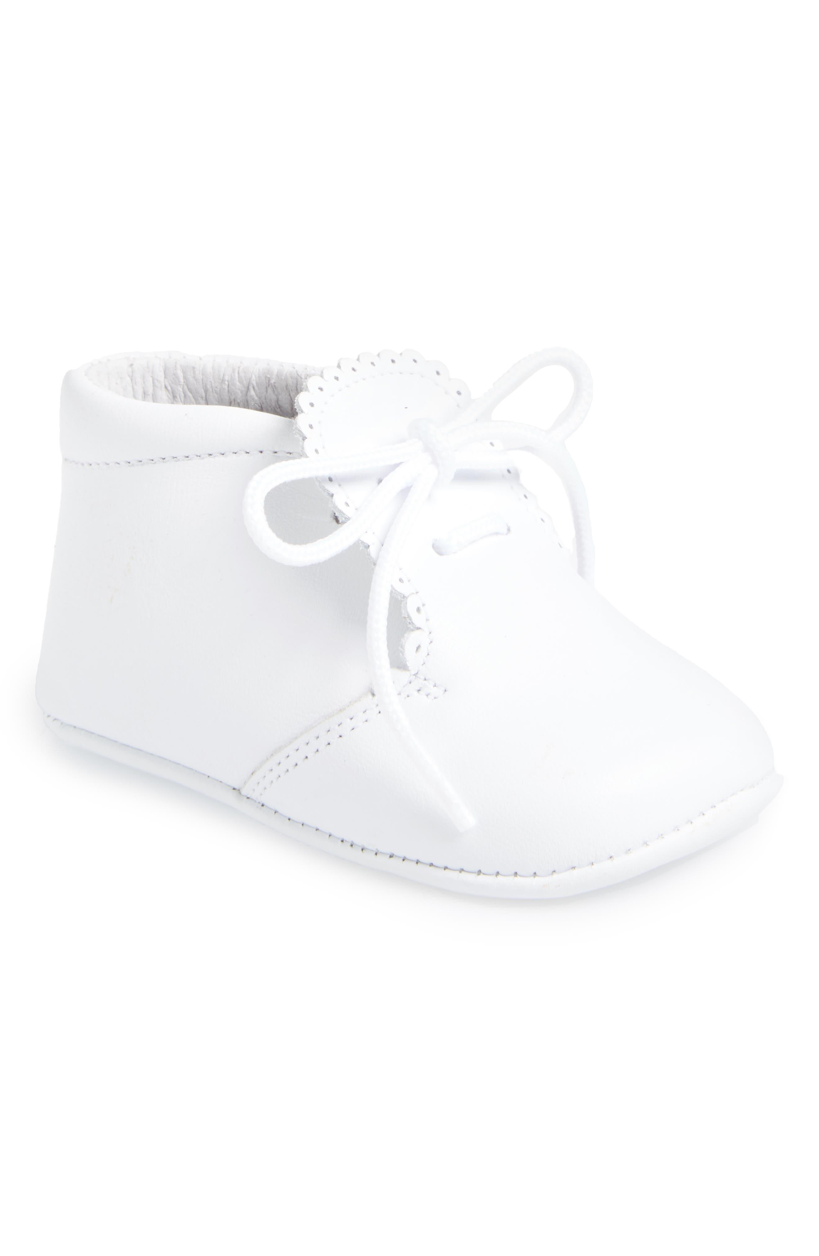 Crib Shoe,                             Main thumbnail 1, color,                             WHITE