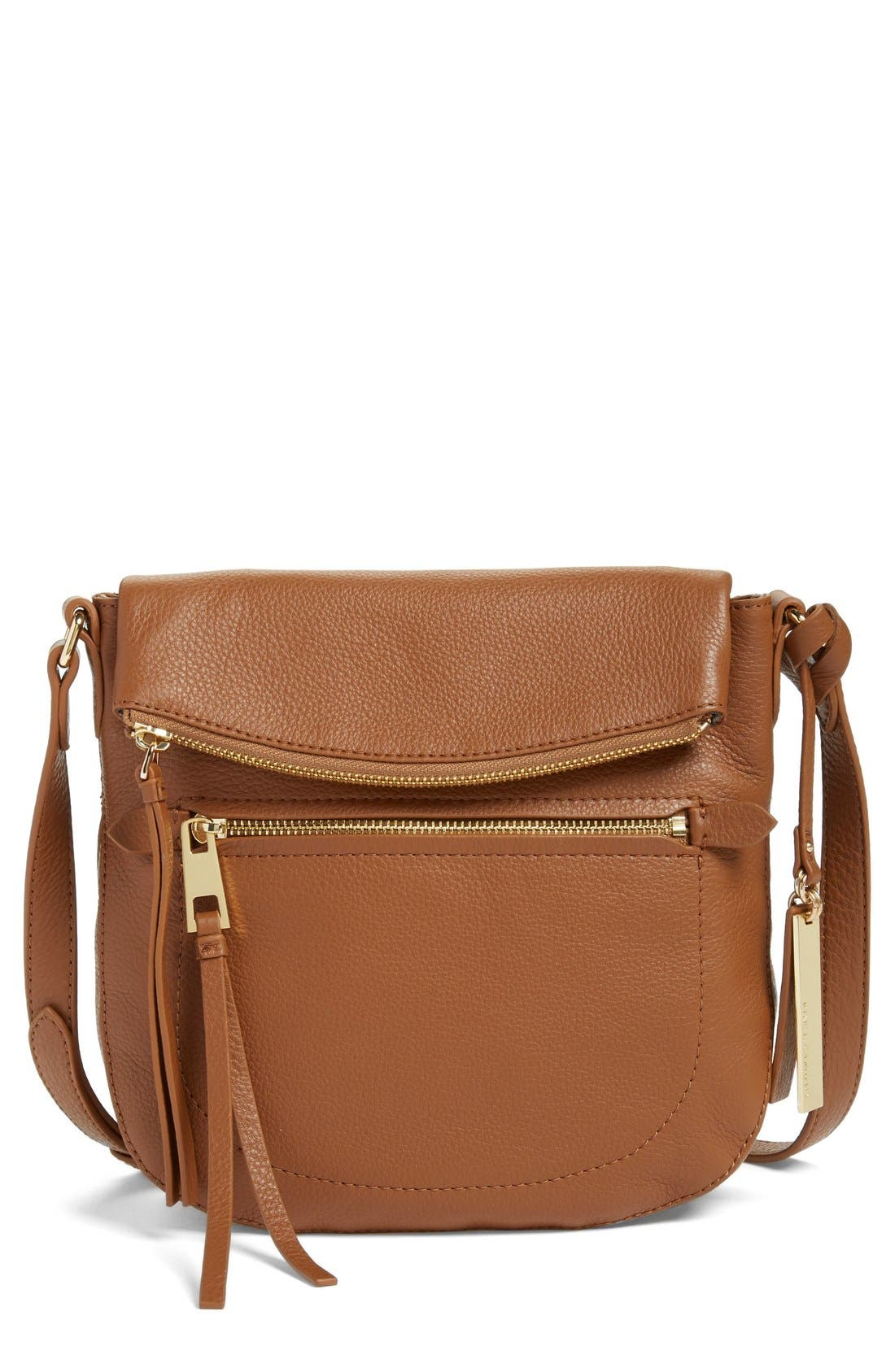 'Tala' Leather Crossbody Bag,                             Main thumbnail 4, color,