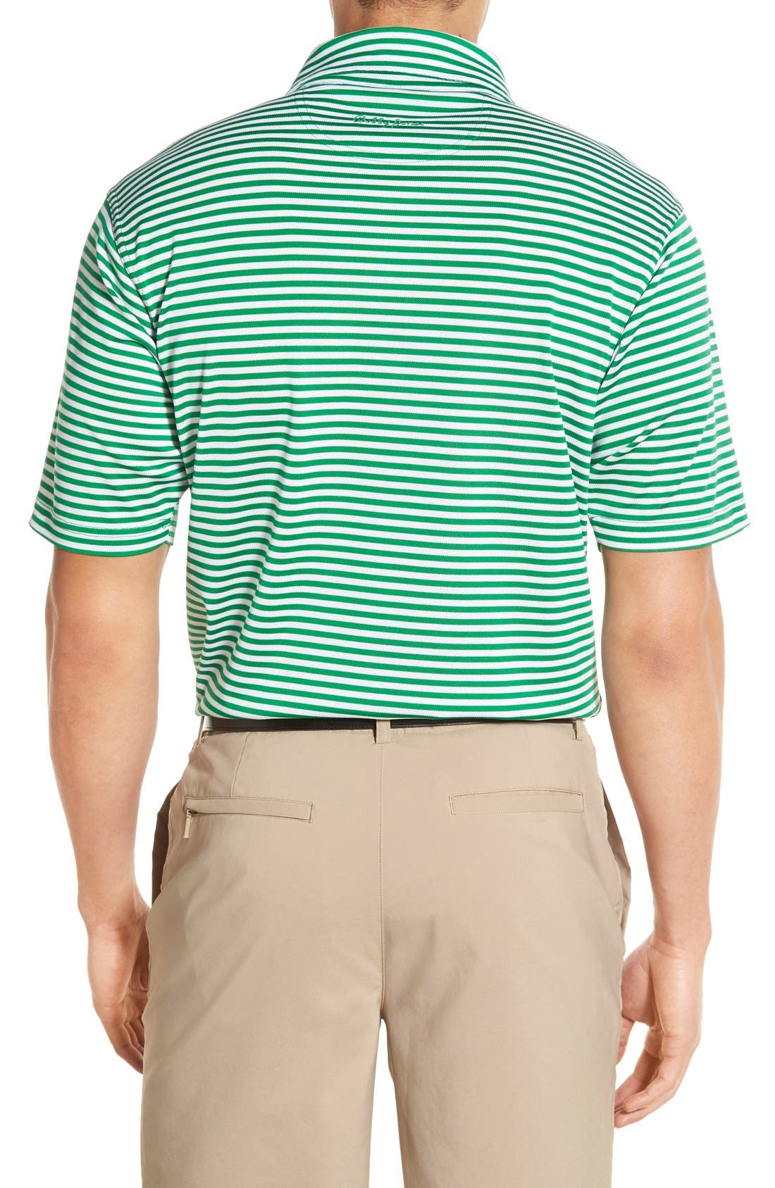 XH2O Feed Stripe Stretch Golf Polo,                             Alternate thumbnail 25, color,