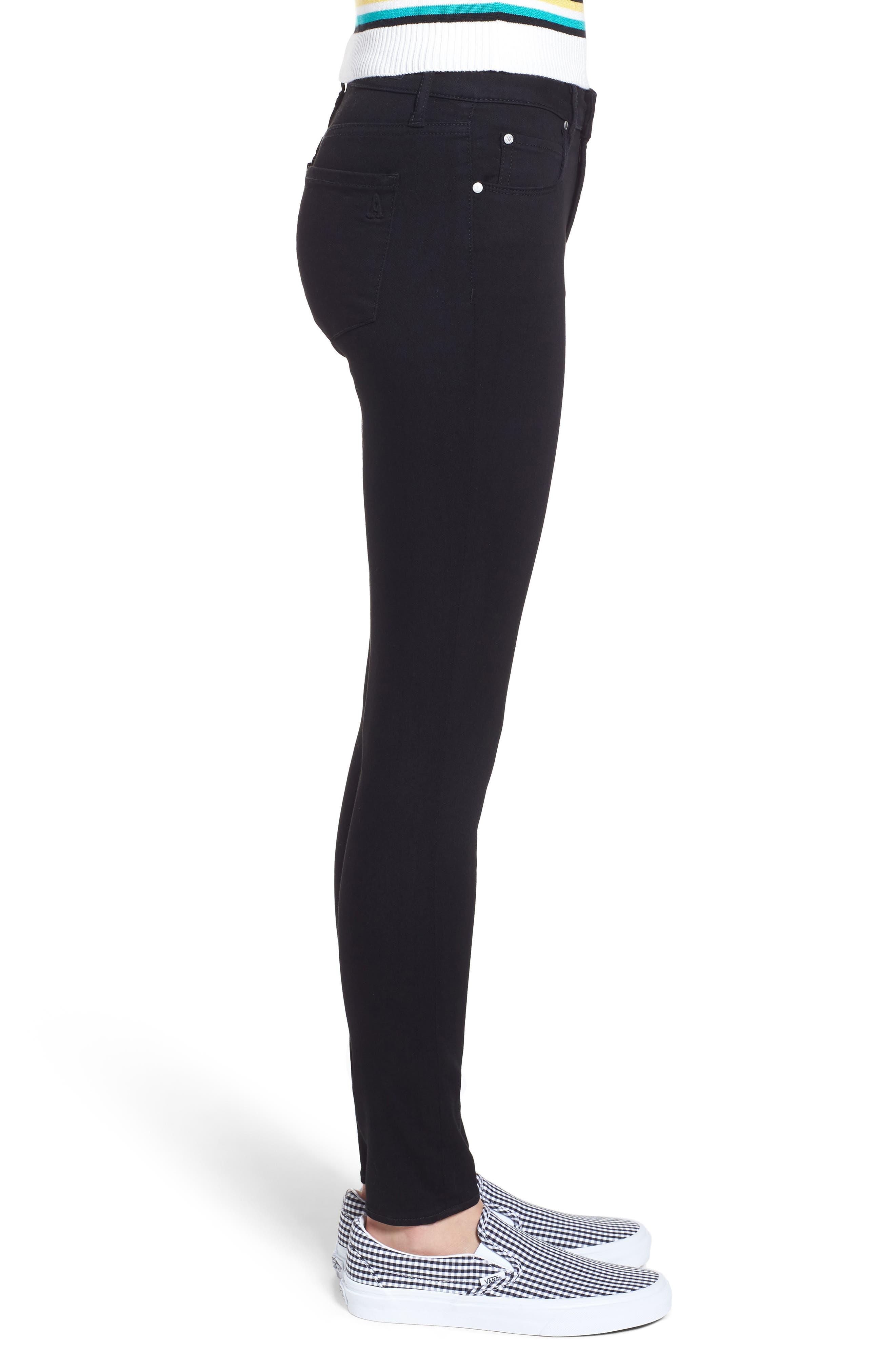 Sarah Skinny Jeans,                             Alternate thumbnail 3, color,                             MACON