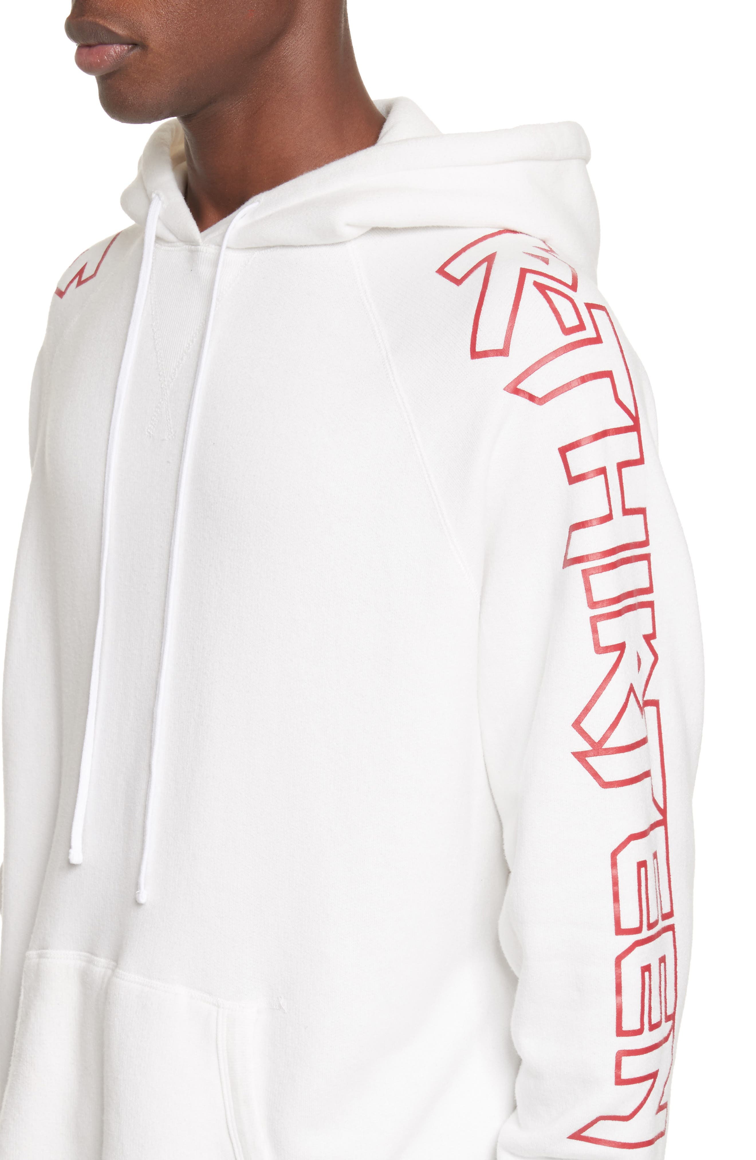 rThirteen Graphic Hoodie,                             Alternate thumbnail 4, color,                             100