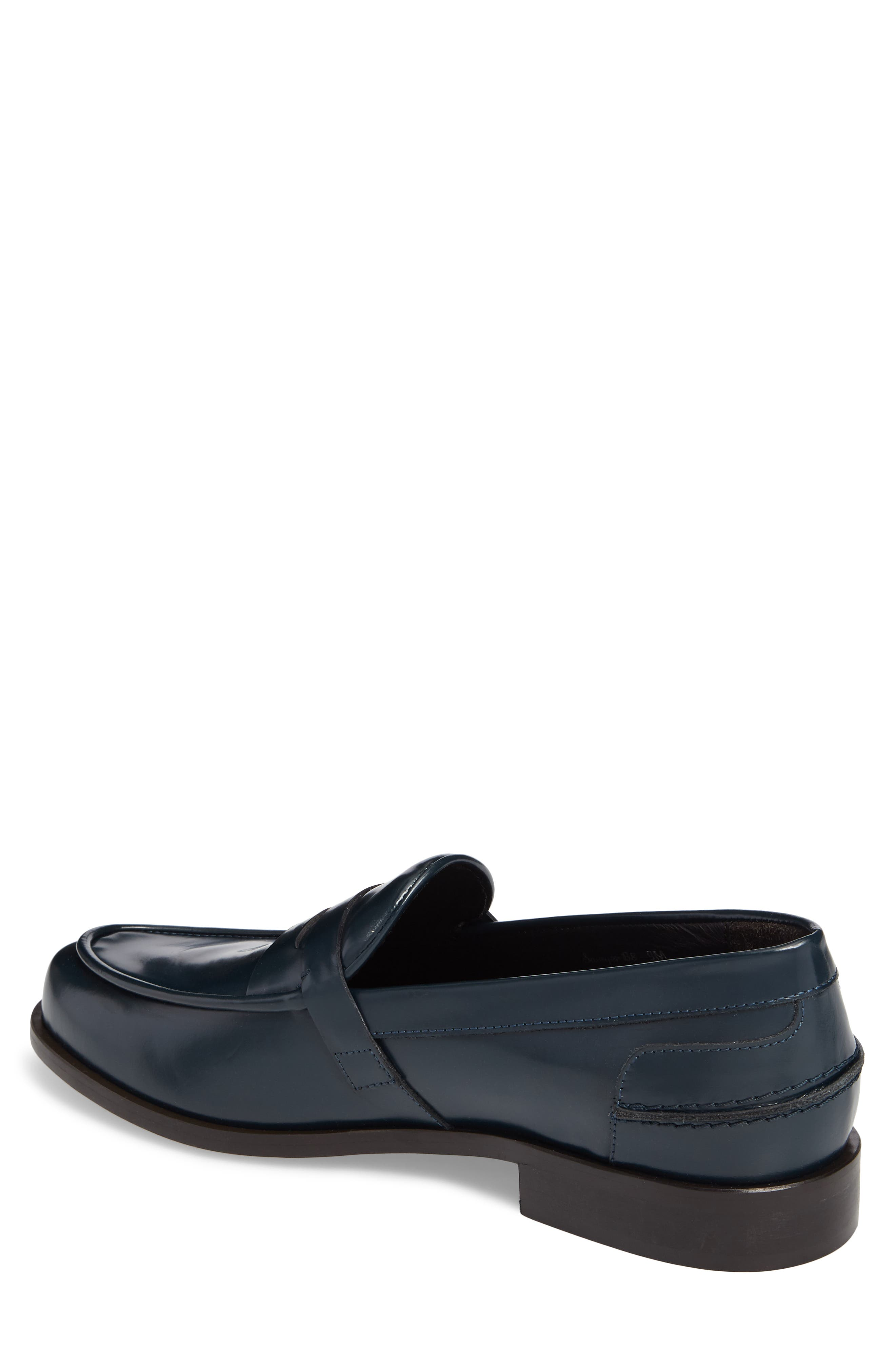 Donald J Pliner Sawyer Penny Loafer,                             Alternate thumbnail 4, color,