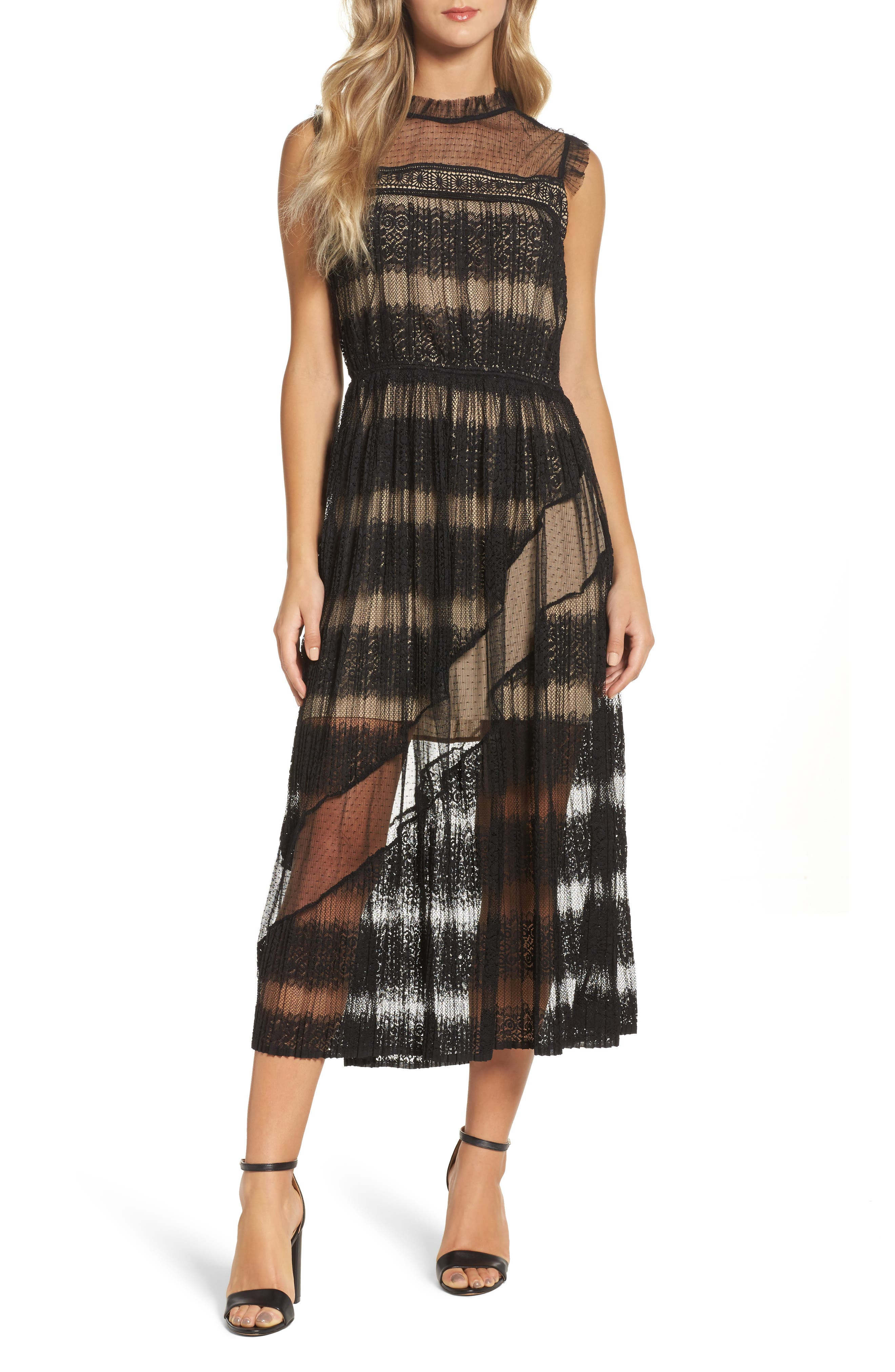 Mixed Media Dress,                         Main,                         color,