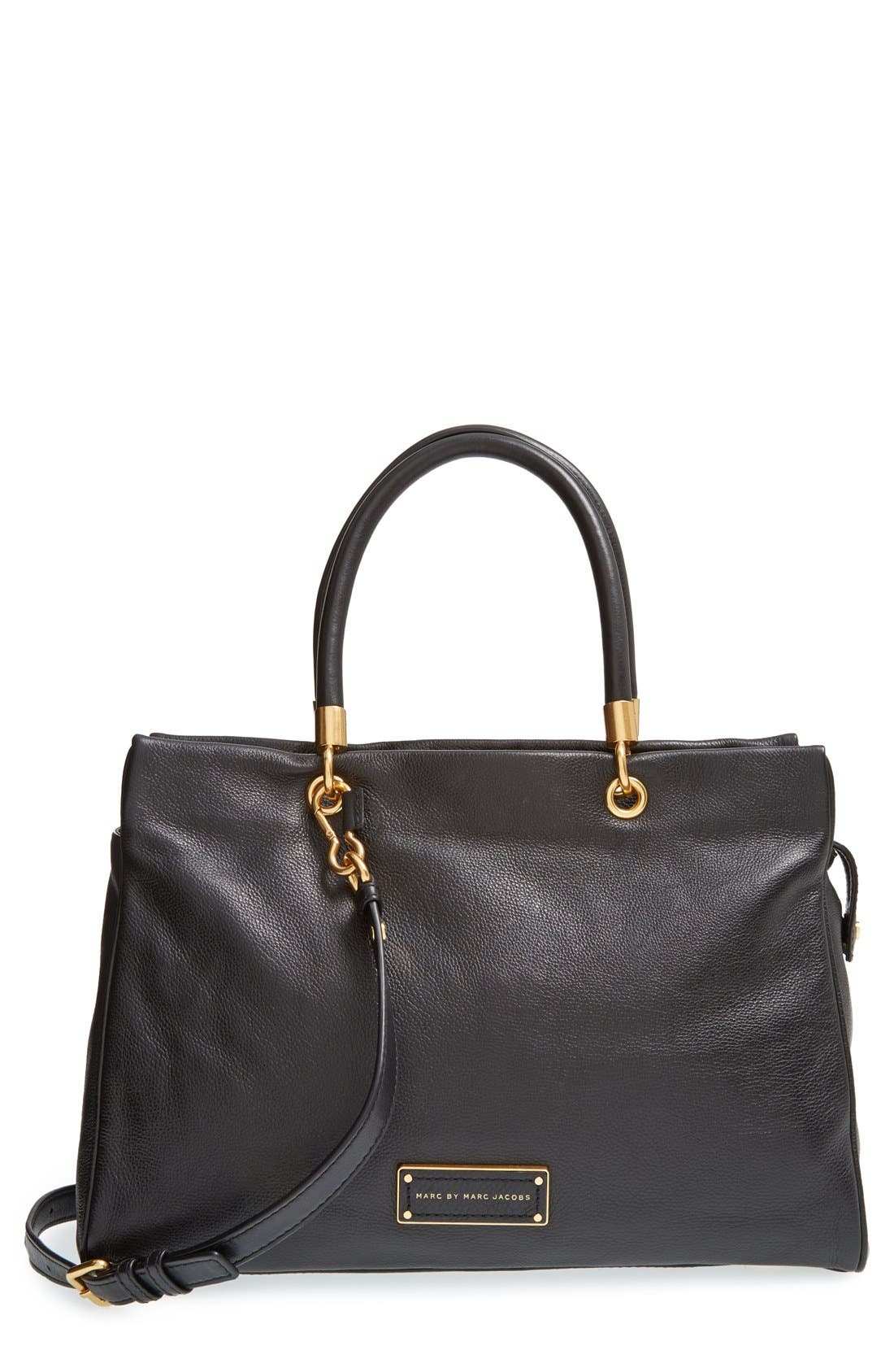 MARC JACOBS MARC BY MARC JACOBS 'Too Hot to Handle' Tote, Main, color, 001