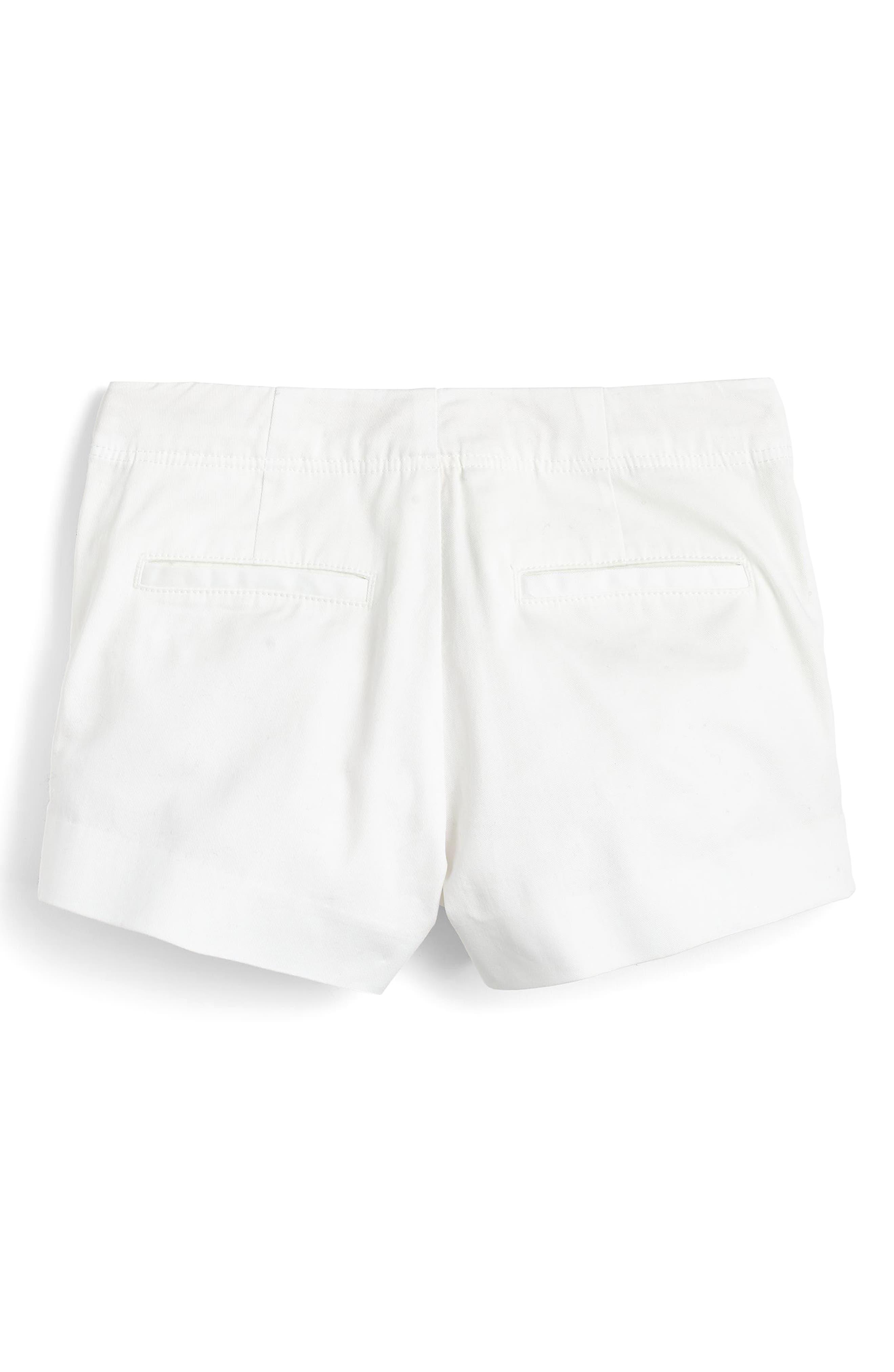 Frankie Stretch Cotton Shorts,                             Alternate thumbnail 2, color,                             101