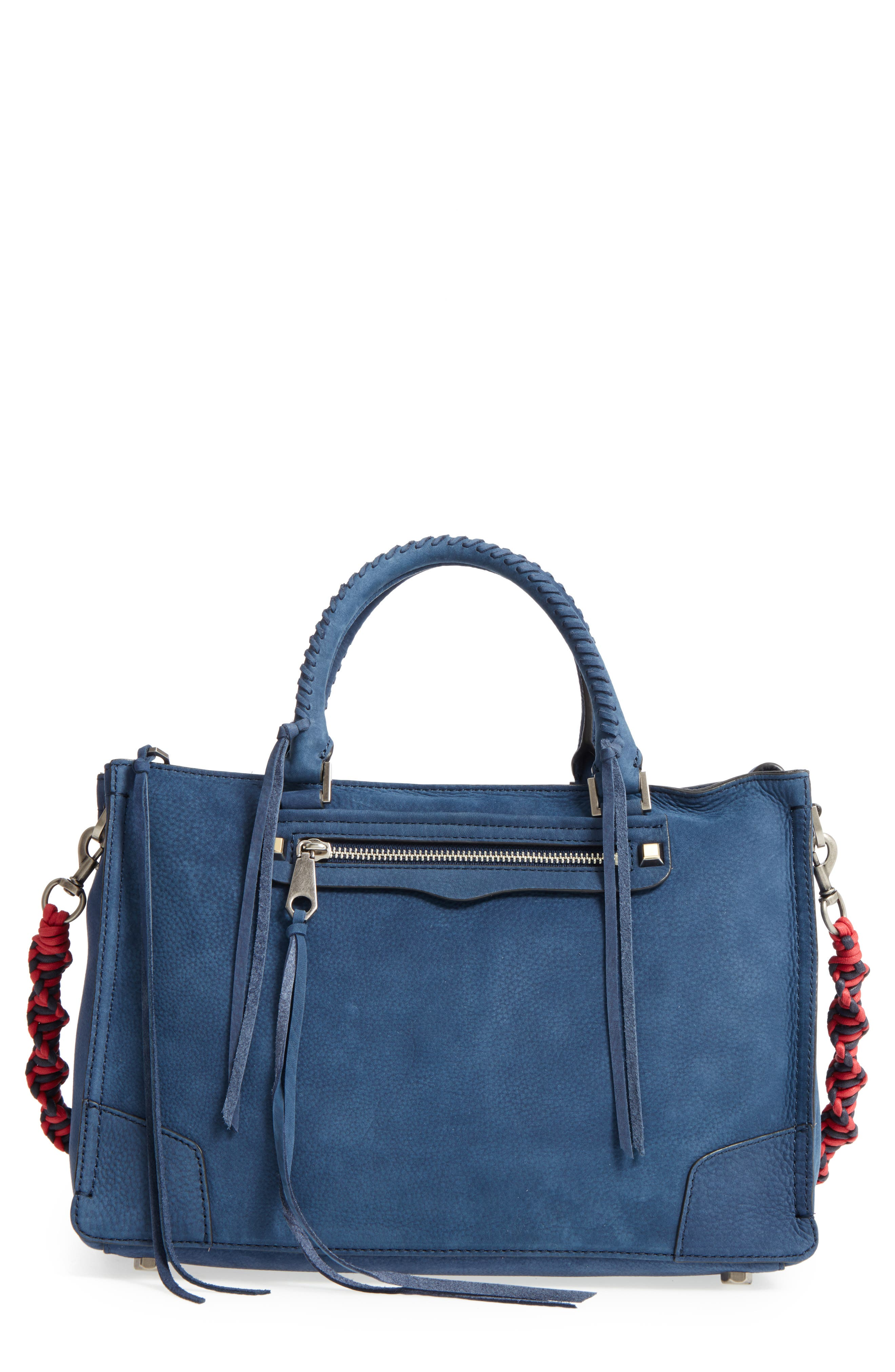 Regan Leather Satchel,                         Main,                         color,