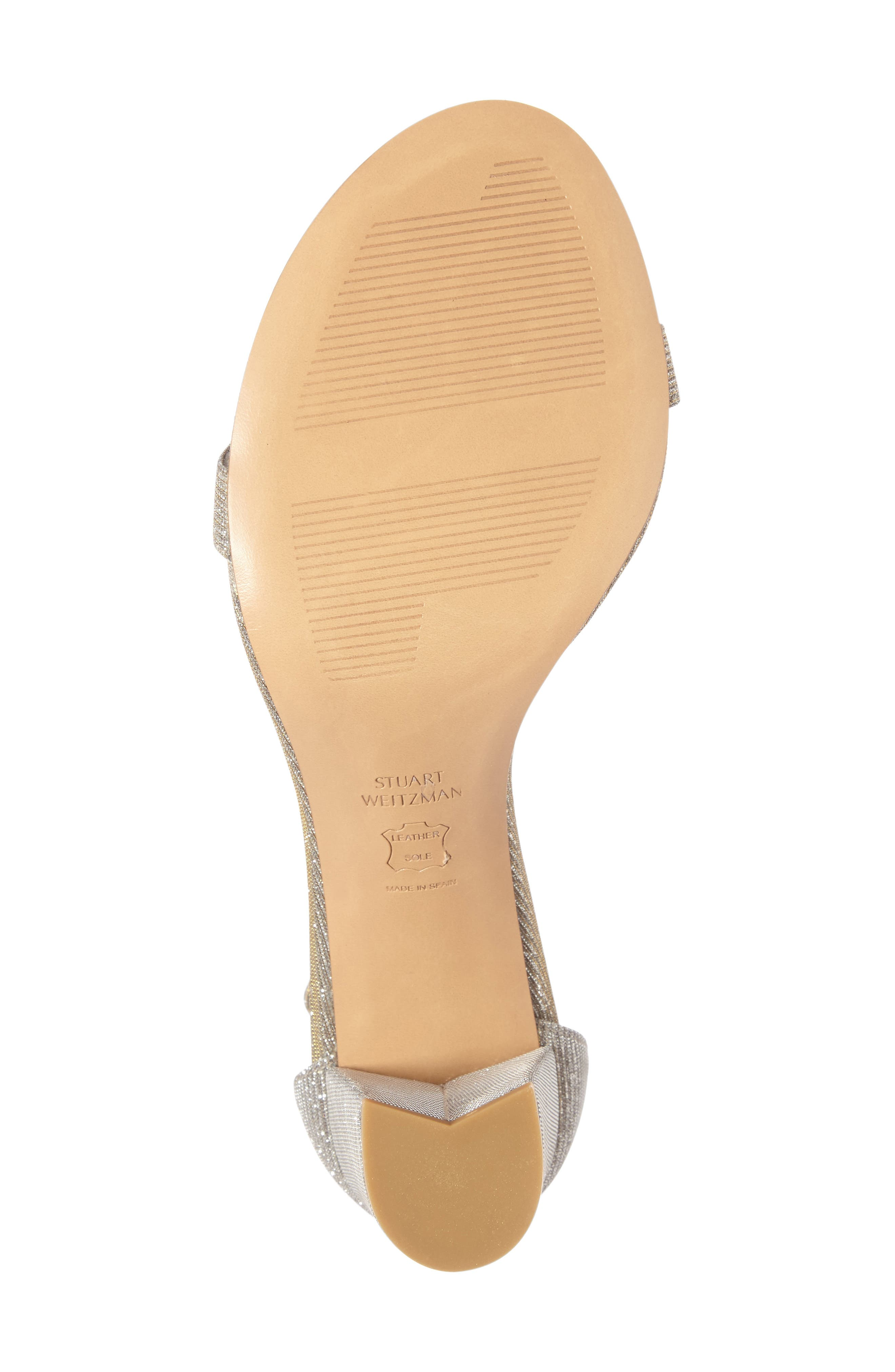 NearlyNude Ankle Strap Sandal,                             Alternate thumbnail 95, color,