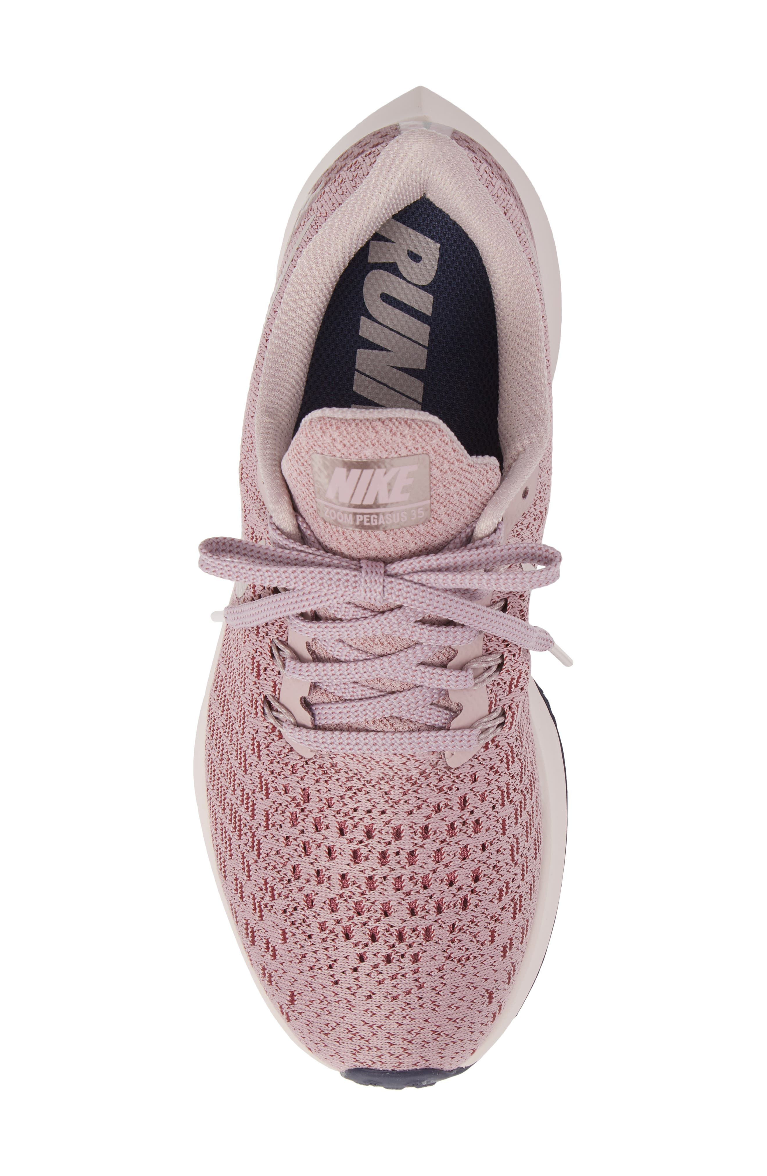 Air Zoom Pegasus 35 Running Shoe,                             Alternate thumbnail 5, color,                             ELEMENTAL ROSE/ BARELY ROSE