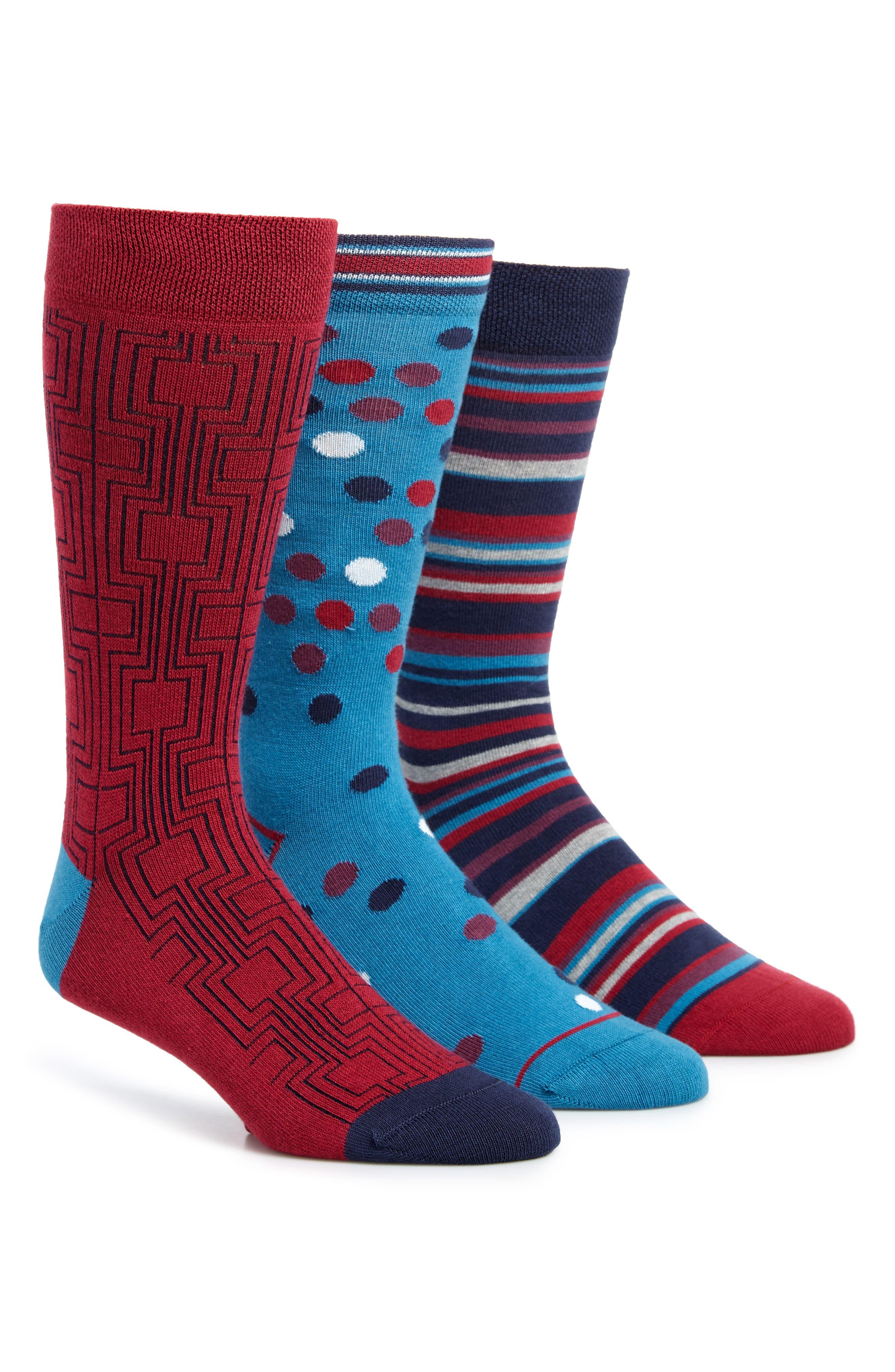 PAUL SMITH 3-Pack Socks, Main, color, 400
