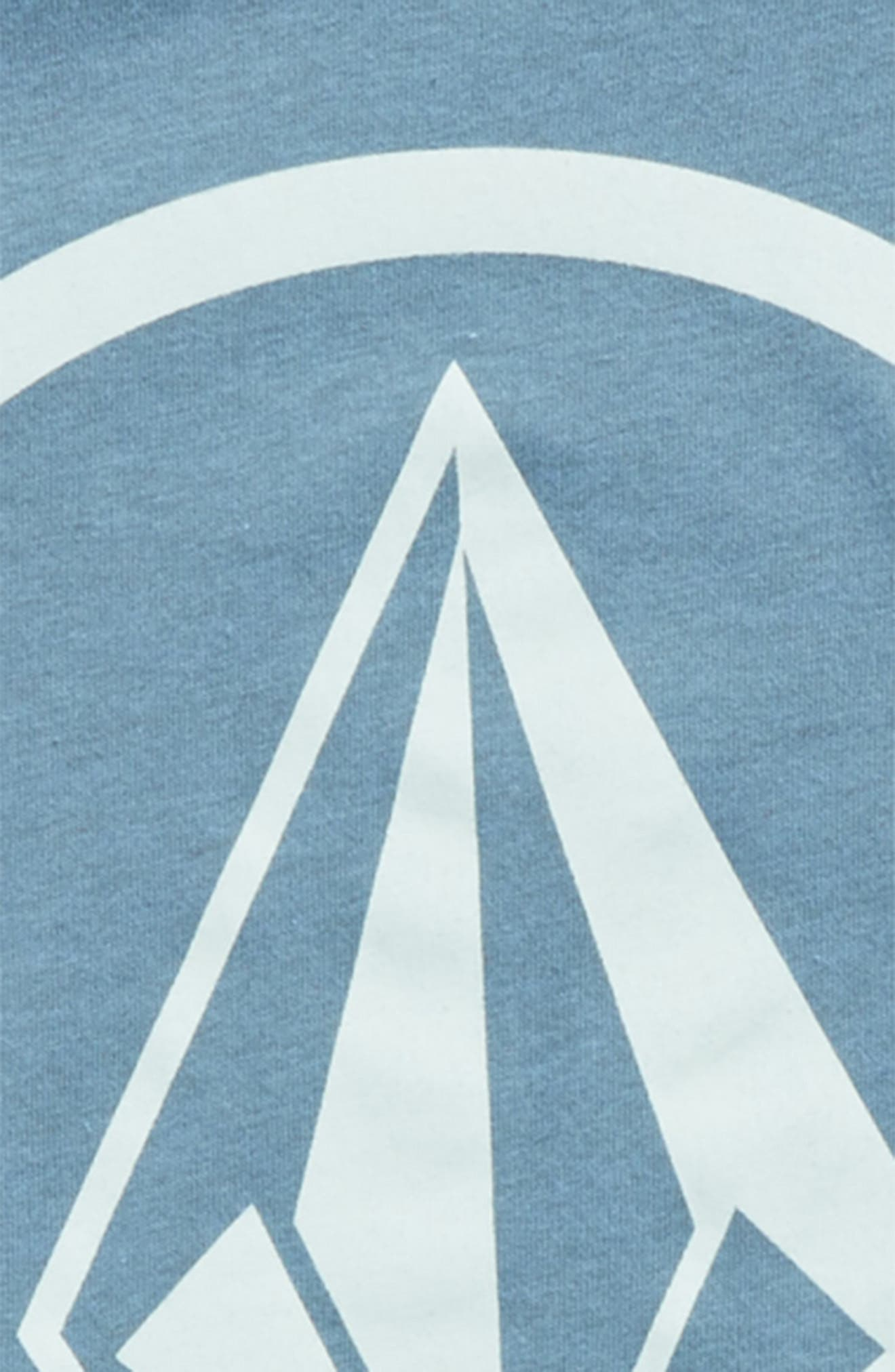 Circle Stone Graphic T-Shirt,                             Alternate thumbnail 2, color,                             WRECKED INDIGO
