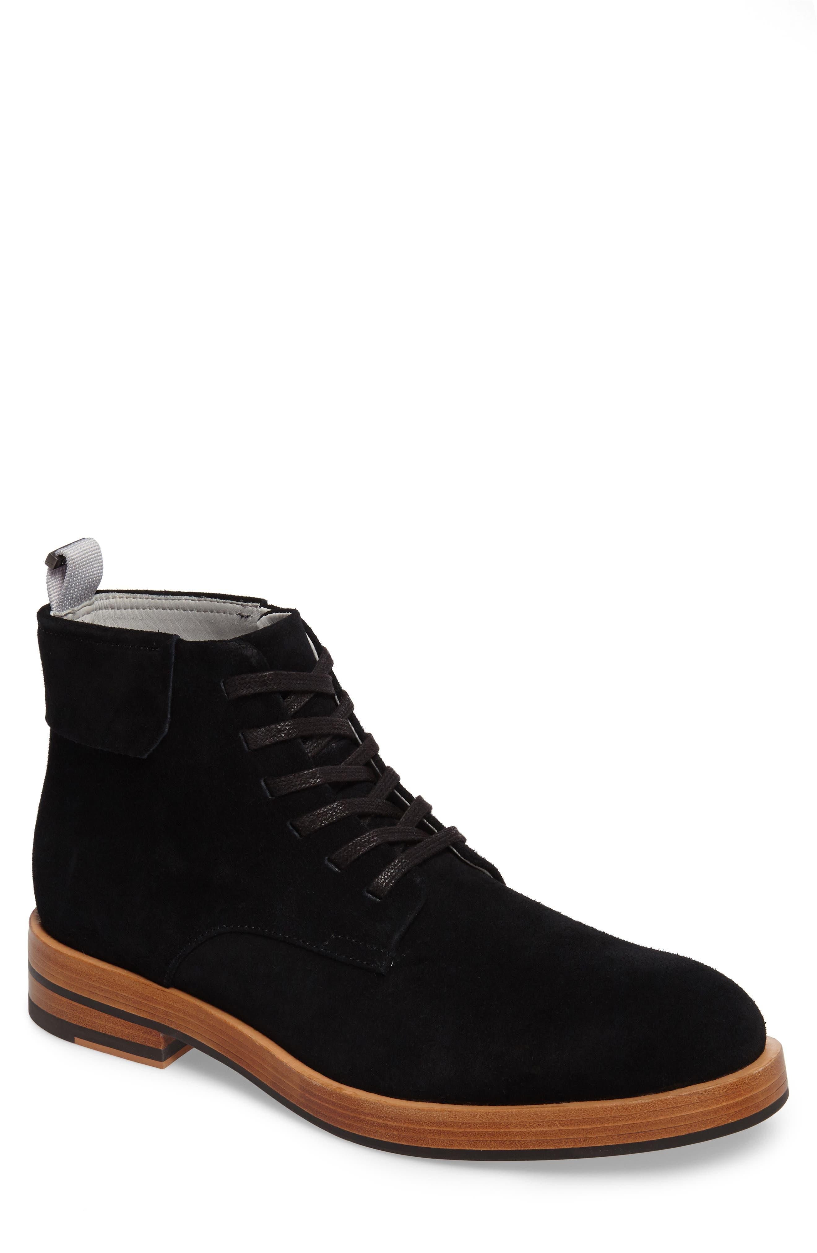 Radburn Plain Toe Boot,                             Main thumbnail 1, color,                             001
