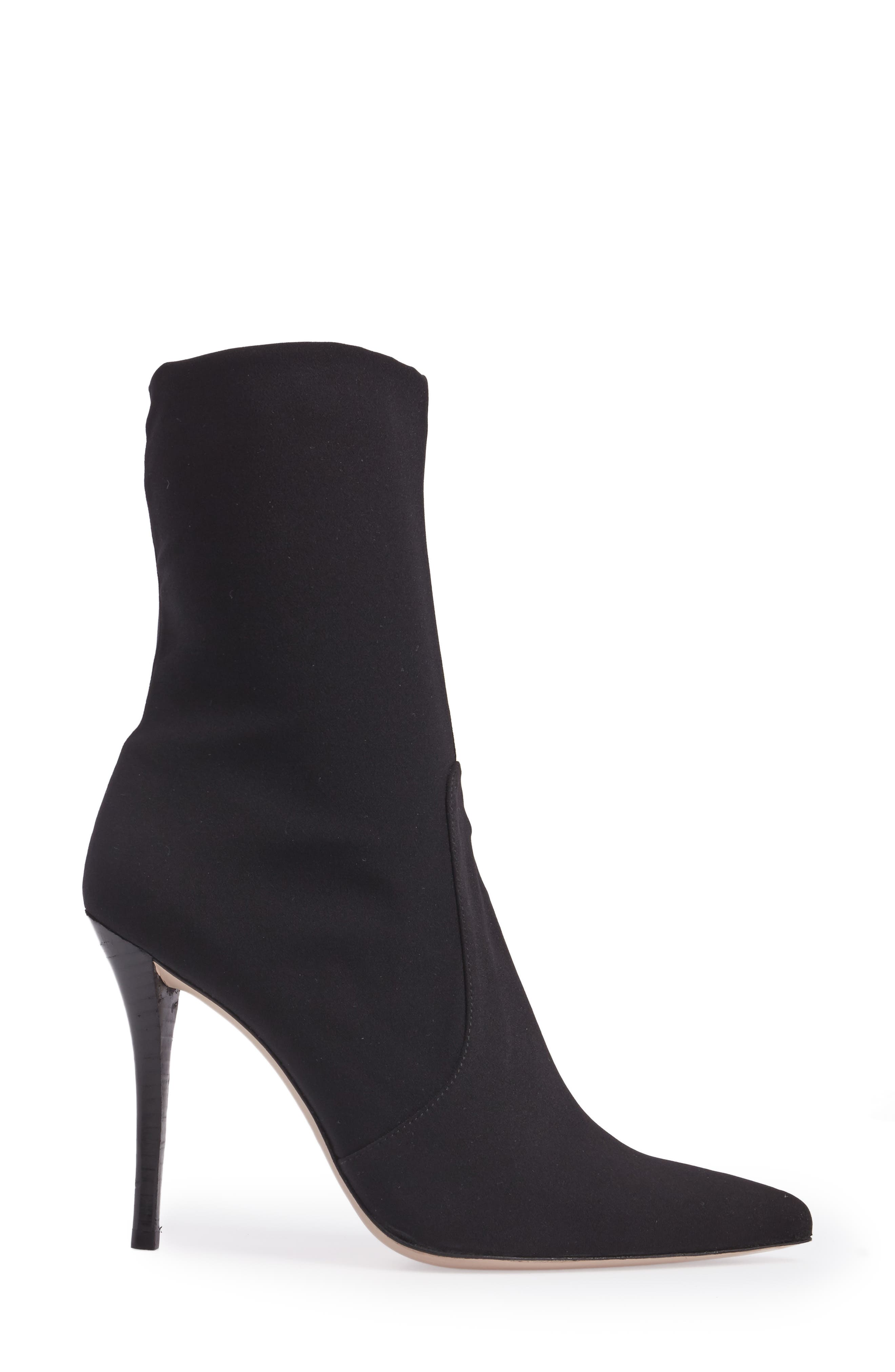 HiFi Pointy Toe Bootie,                             Alternate thumbnail 3, color,                             001