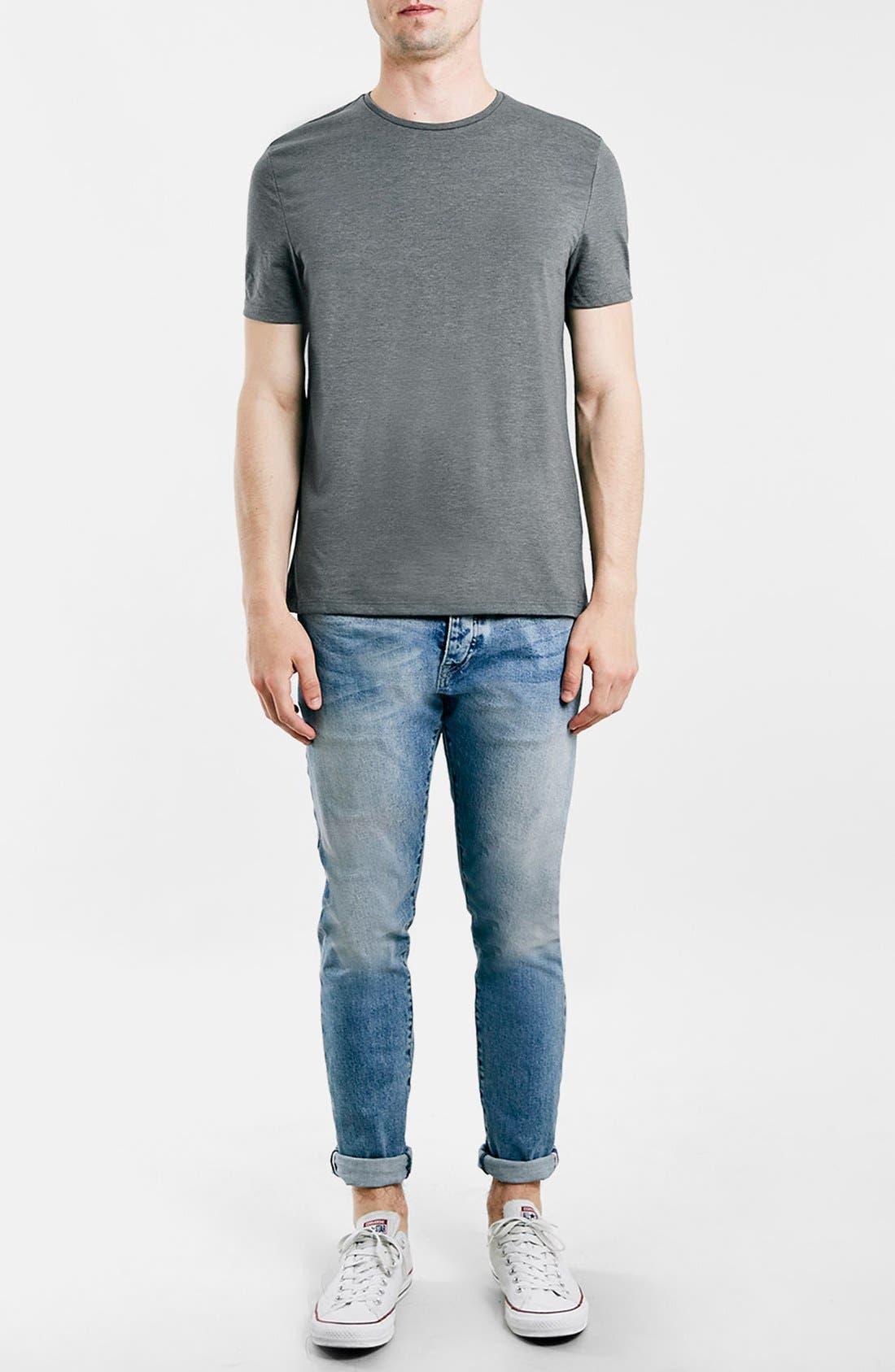 Slim Fit Crewneck T-Shirt,                             Alternate thumbnail 131, color,